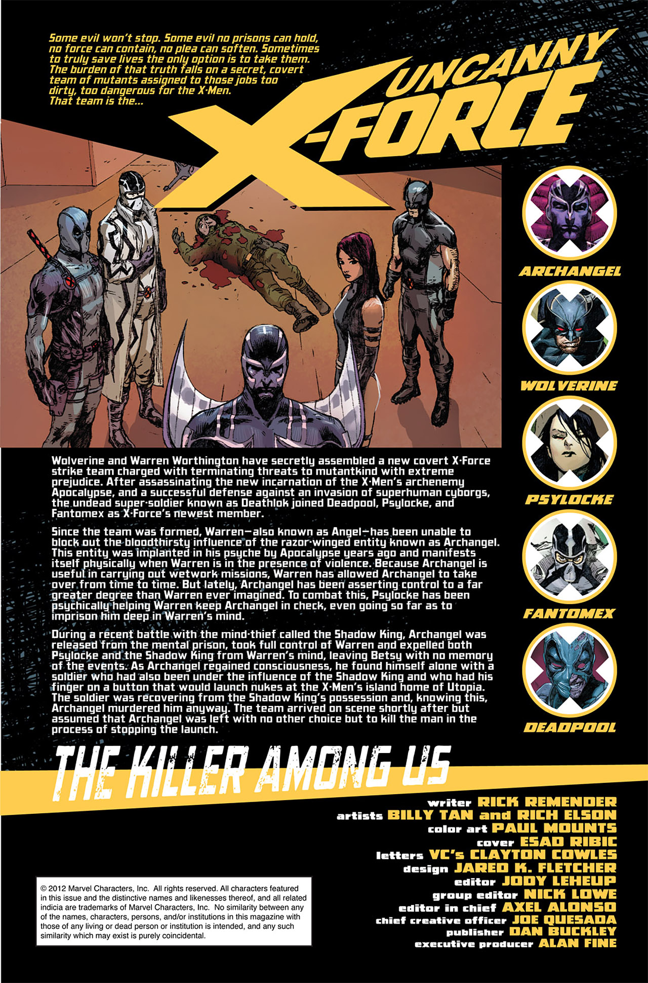 Uncanny X-Force (2010) #10 #27 - English 2