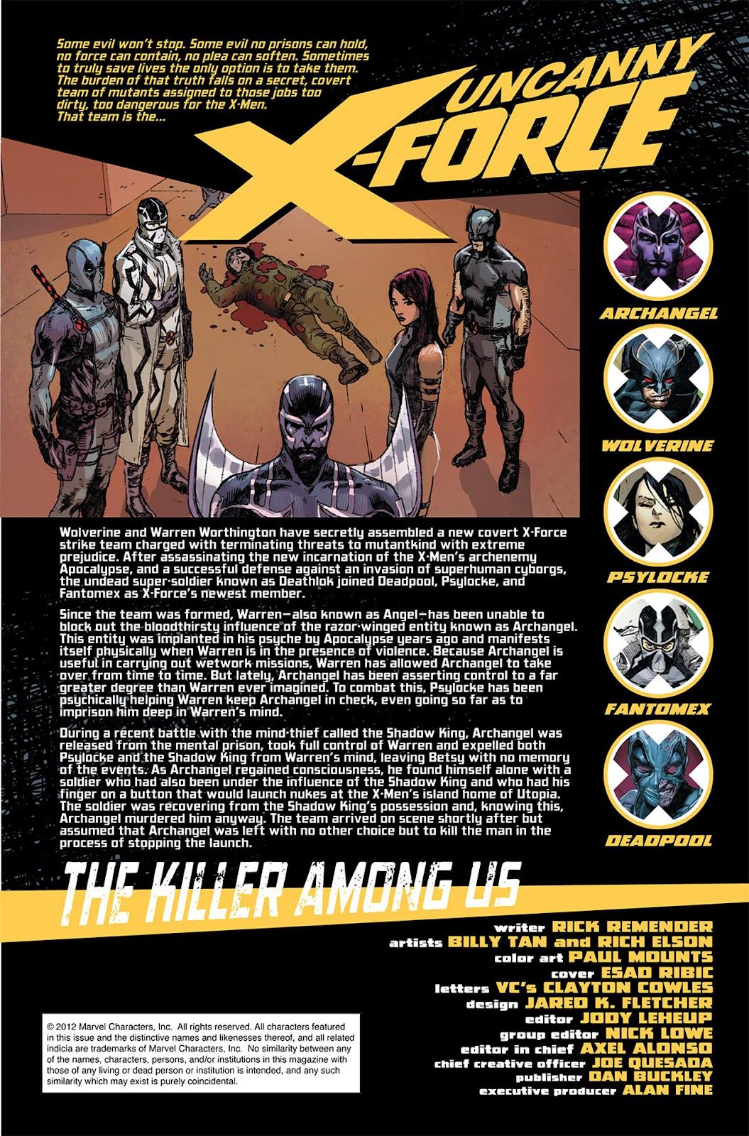 Uncanny X-Force (2010) Issue #10 #11 - English 2