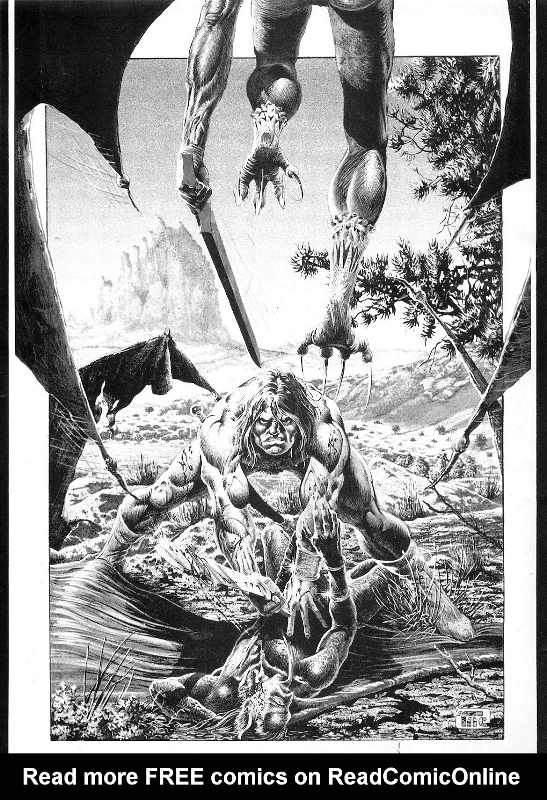 The Savage Sword Of Conan Issue #18 #19 - English 2