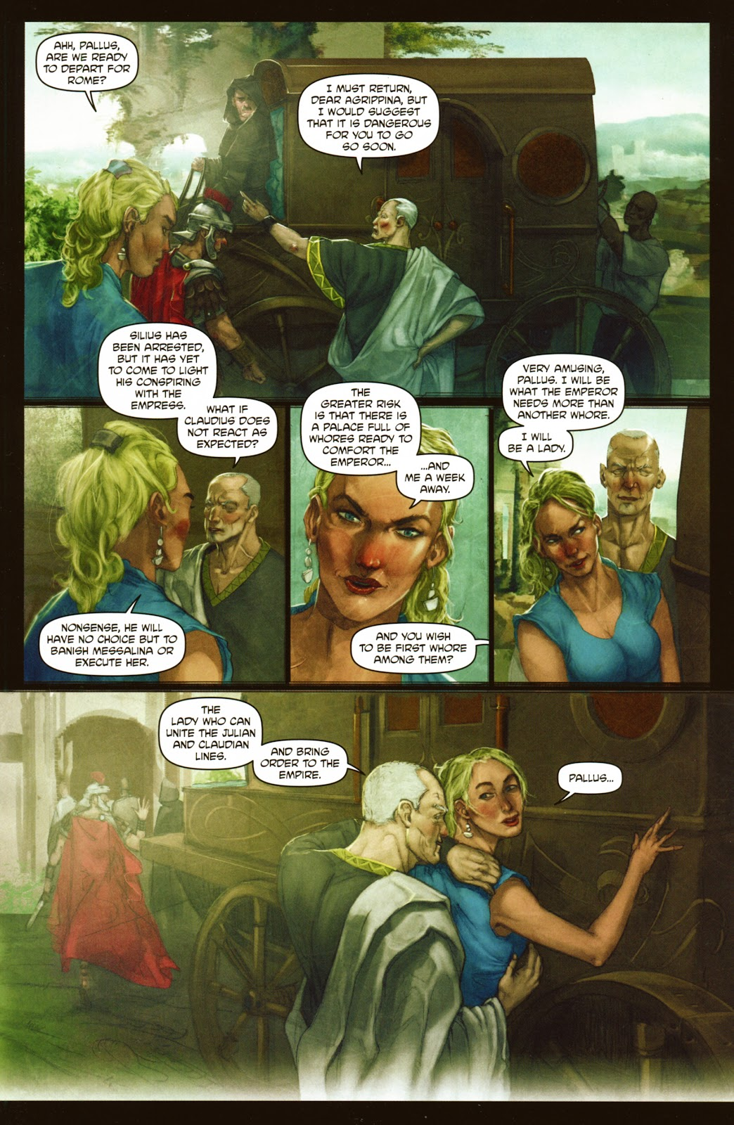 Caligula: Heart of Rome Issue #2 #2 - English 6