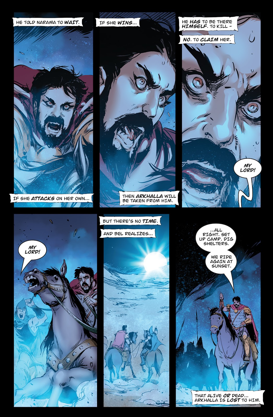 Queen of Vampires Issue #7 #7 - English 20