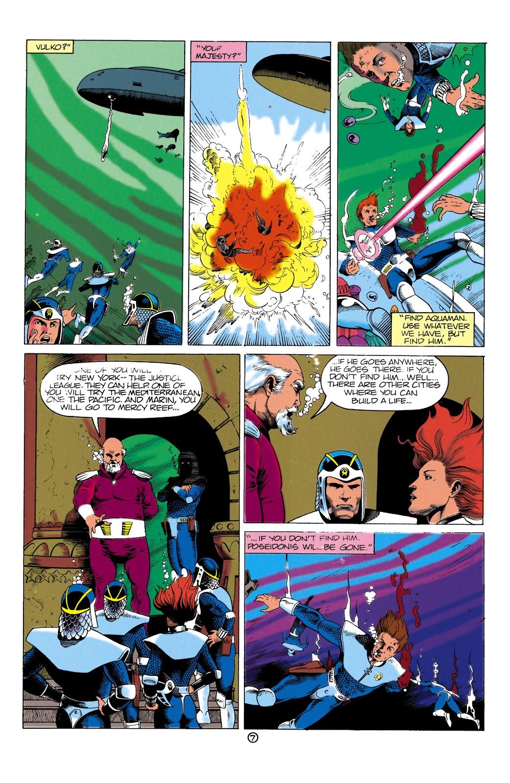 Aquaman (1991) Issue #1 #1 - English 7