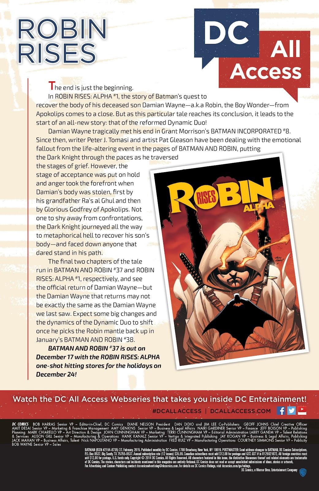Batman (2011) Issue #37 #56 - English 34