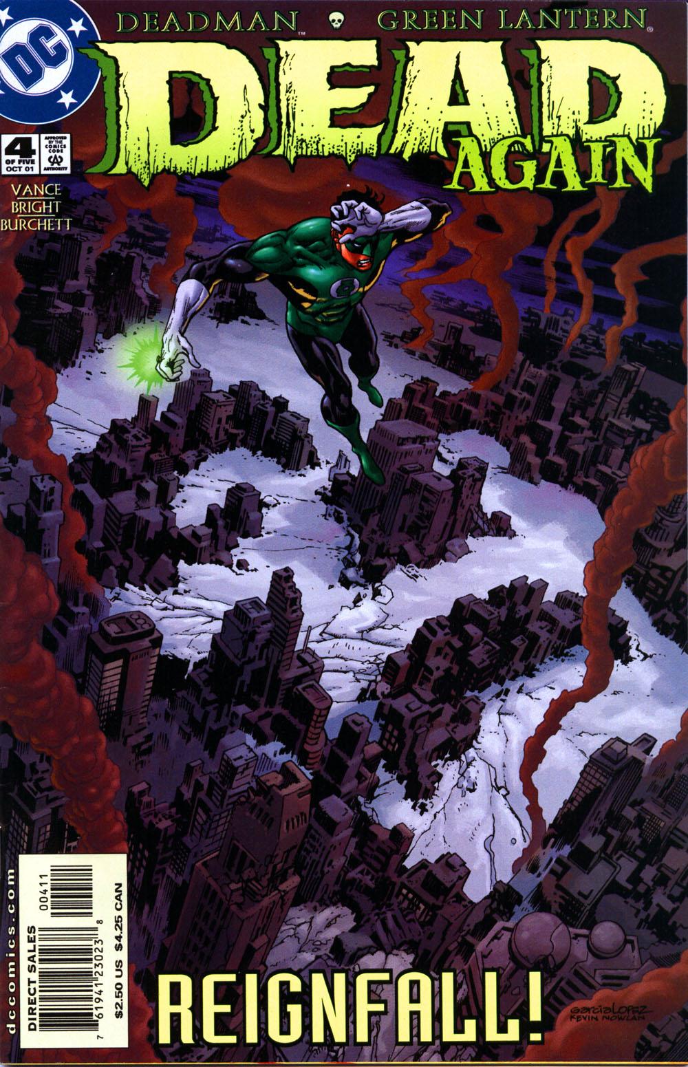 Read online Deadman: Dead Again comic -  Issue #4 - 1