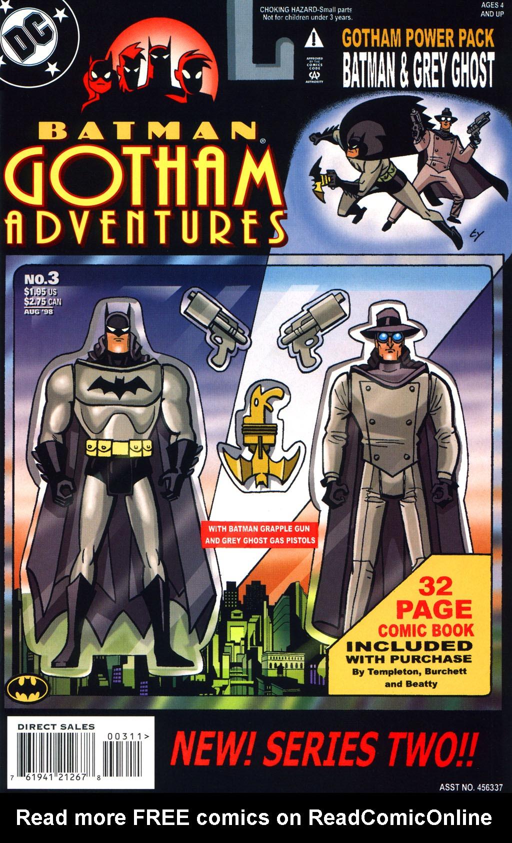 Batman: Gotham Adventures 3 Page 1