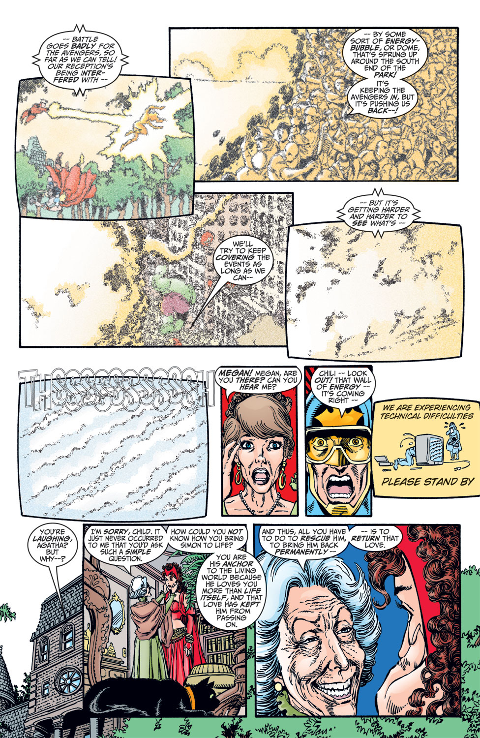 Read online Avengers (1998) comic -  Issue #10 - 21