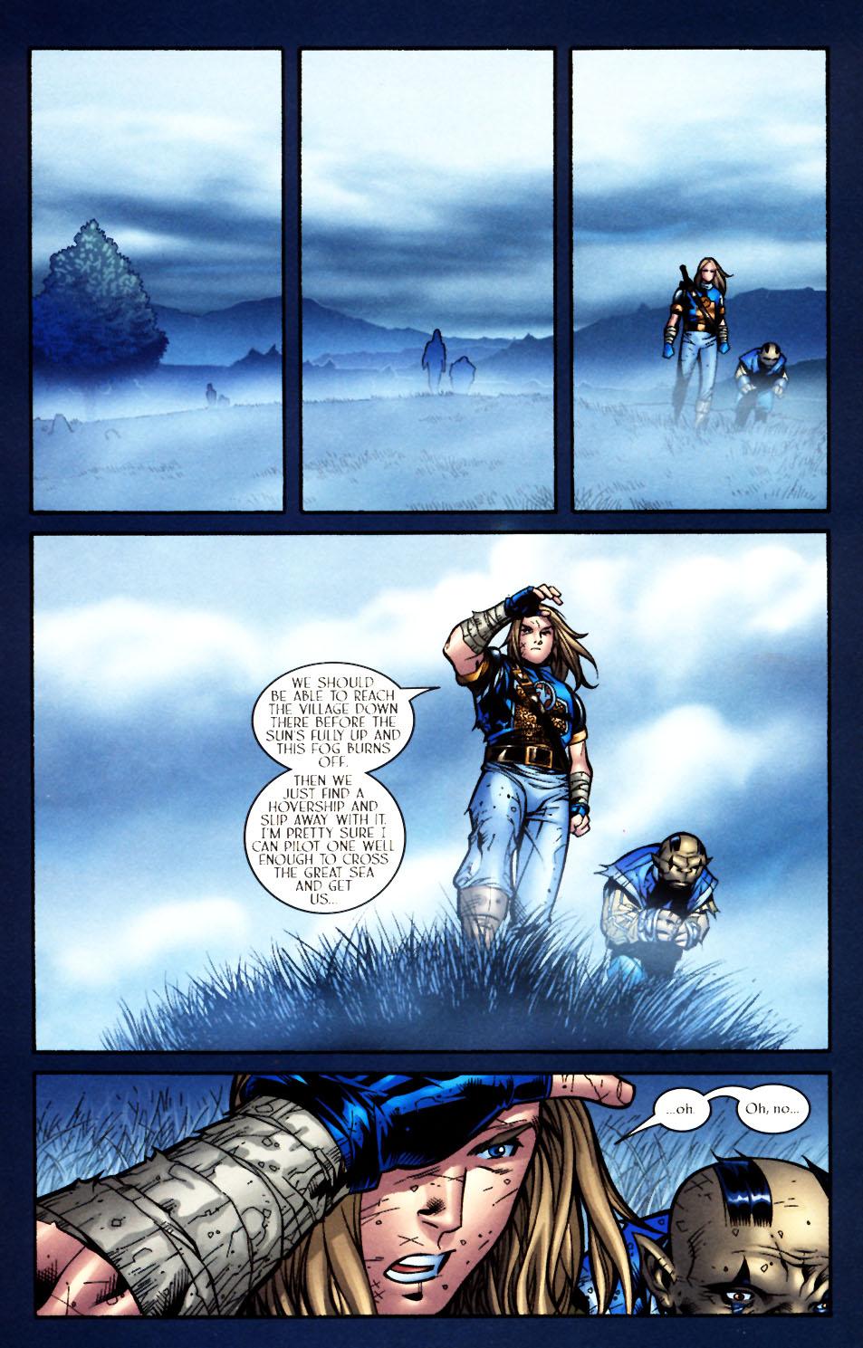 Read online Scion comic -  Issue #4 - 14