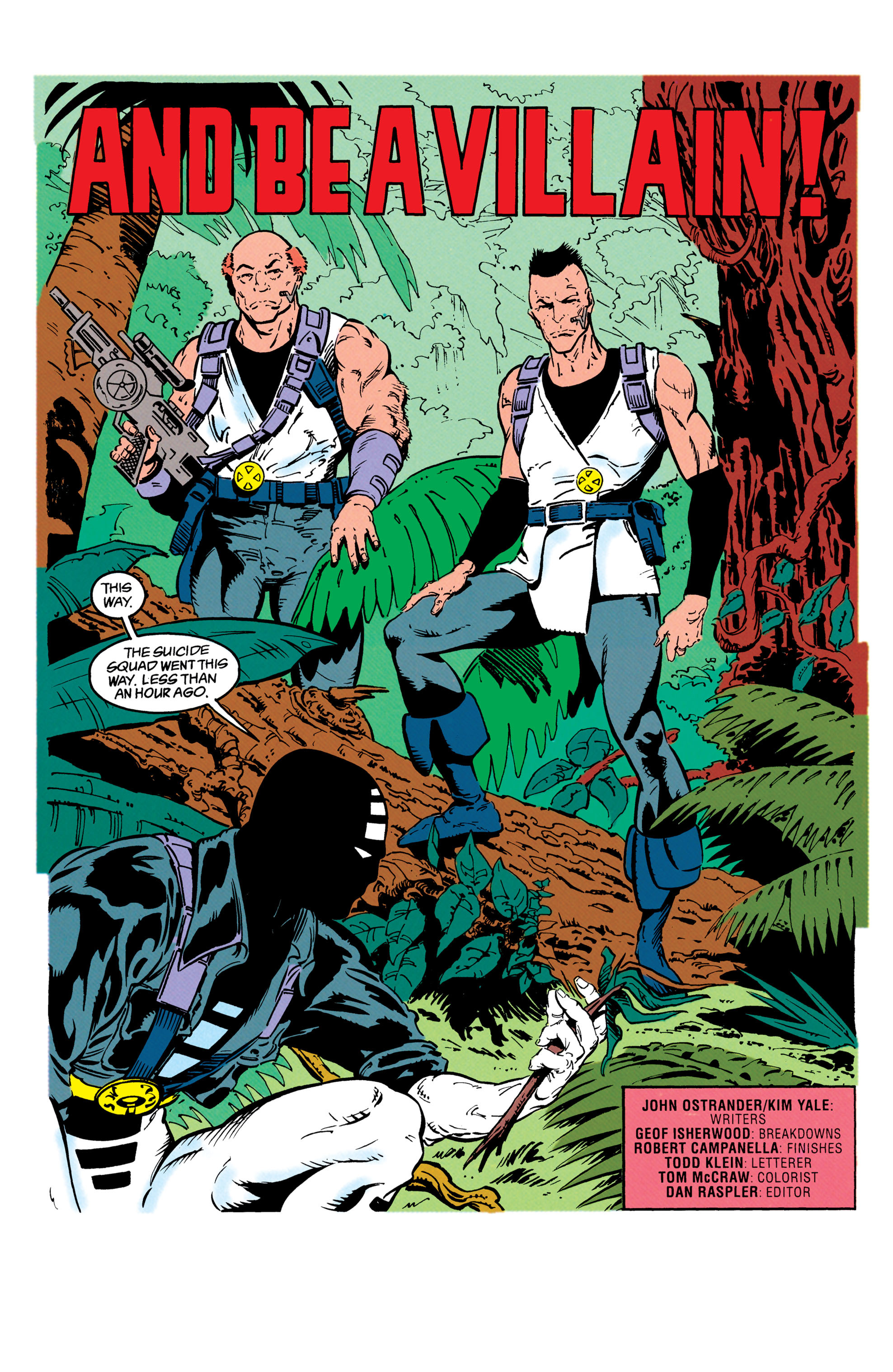 Read online Suicide Squad (1987) comic -  Issue #66 - 2