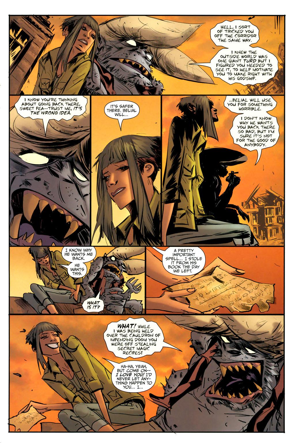 Strange Girl Issue #9 #10 - English 19