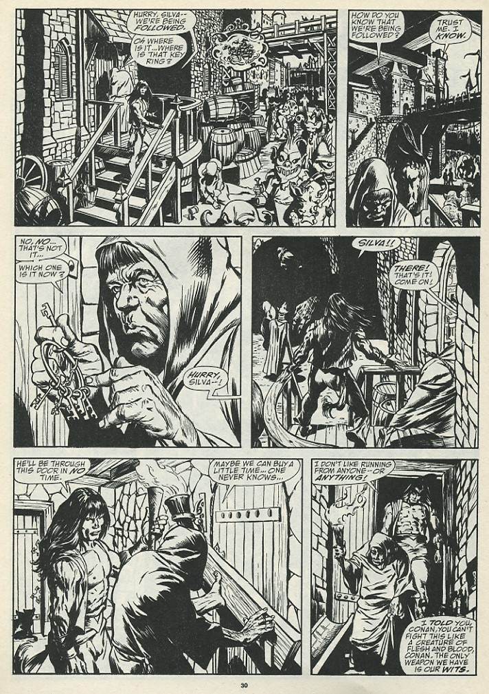 The Savage Sword Of Conan Issue #185 #186 - English 32