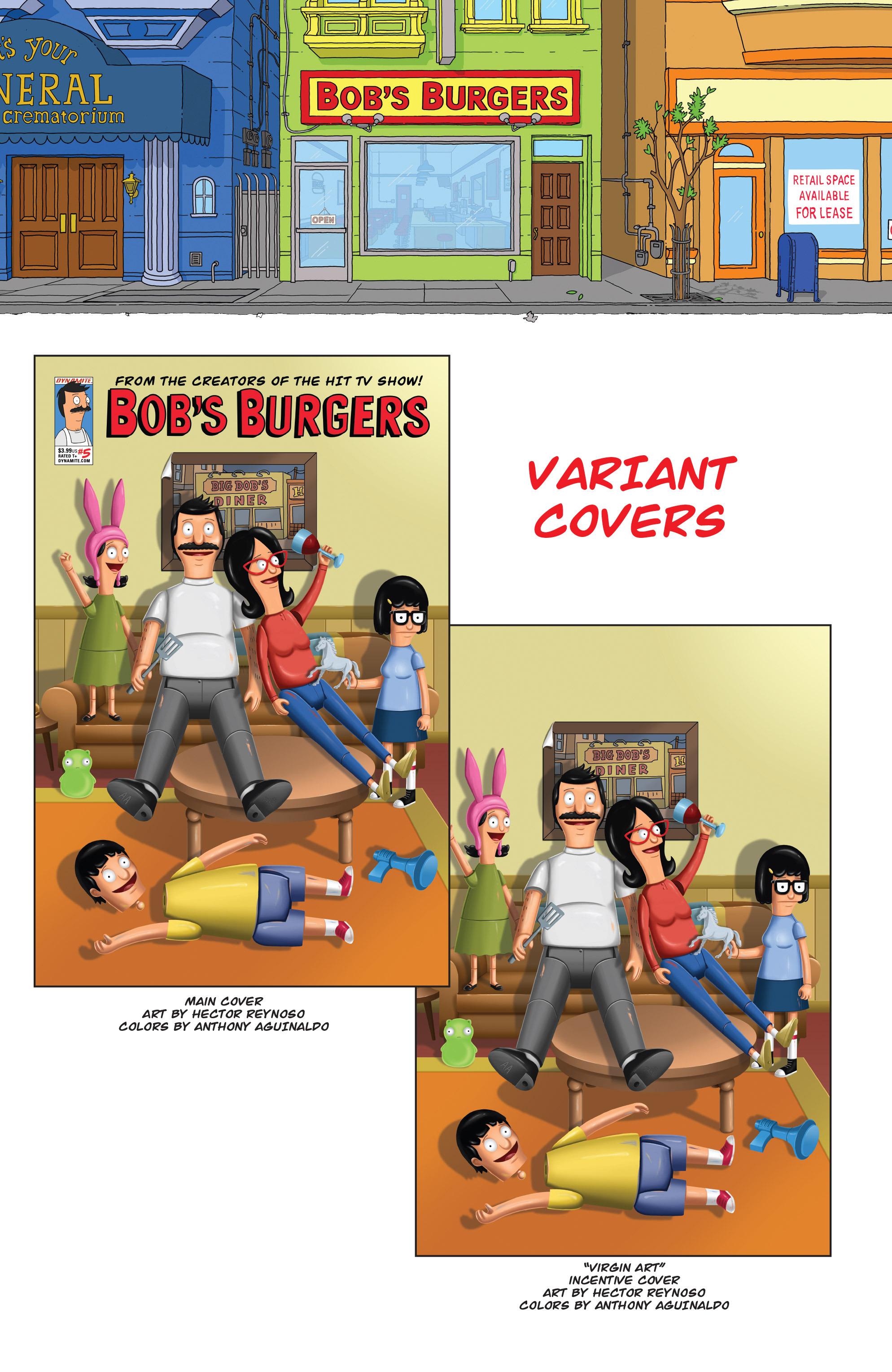 Read online Bob's Burgers (2014) comic -  Issue #5 - 32