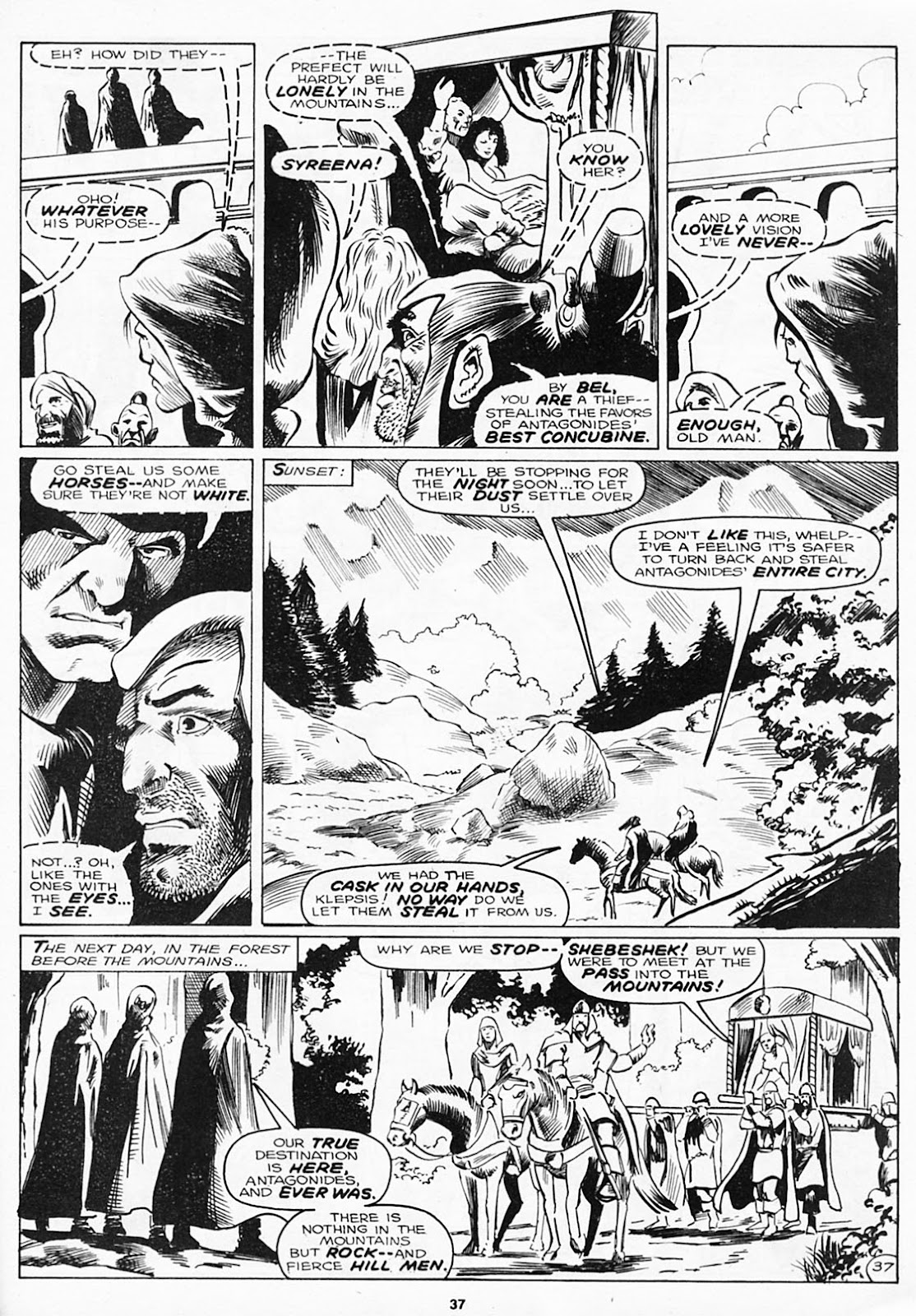 The Savage Sword Of Conan Issue #180 #181 - English 39