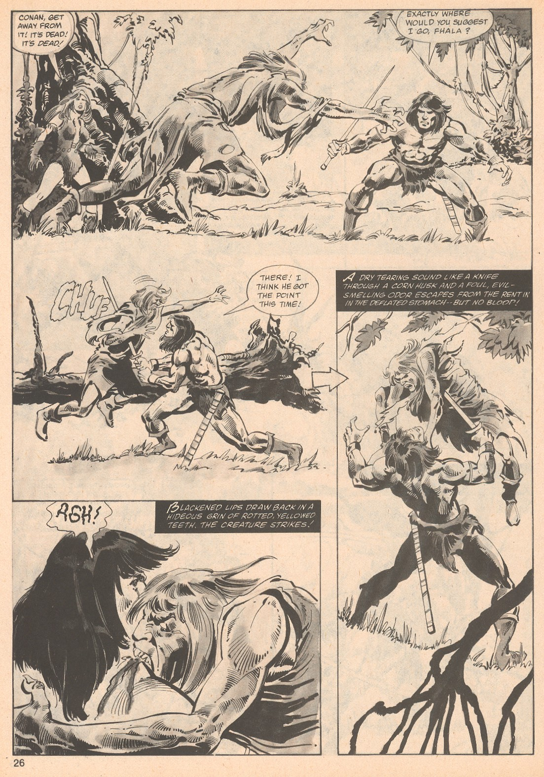The Savage Sword Of Conan Issue #70 #71 - English 26