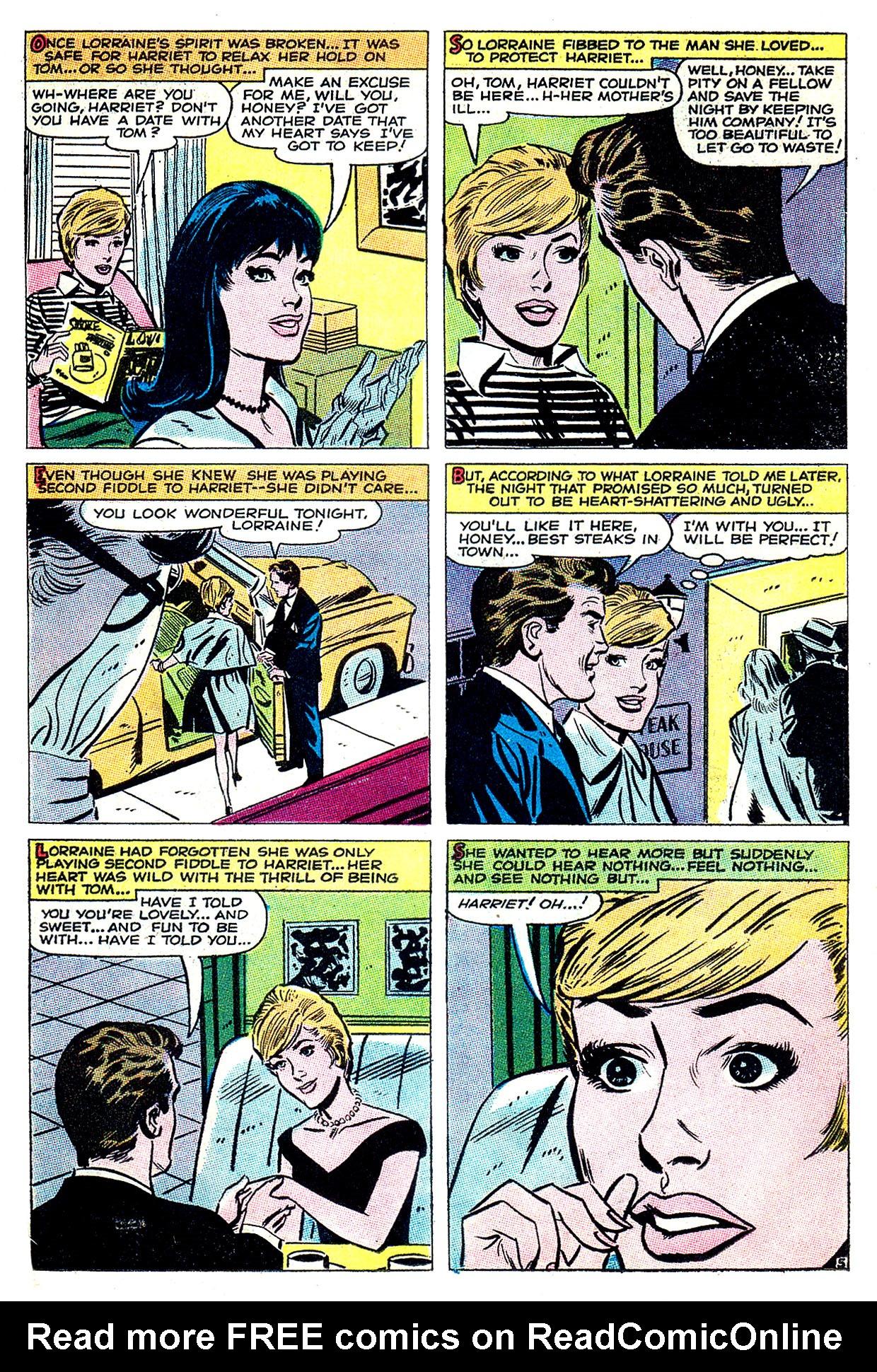 Read online Secret Hearts comic -  Issue #135 - 15