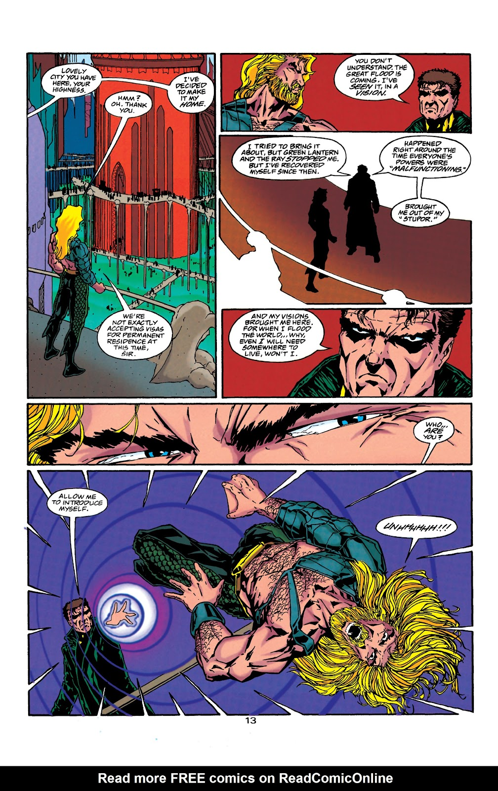 Aquaman (1994) Issue #40 #46 - English 14