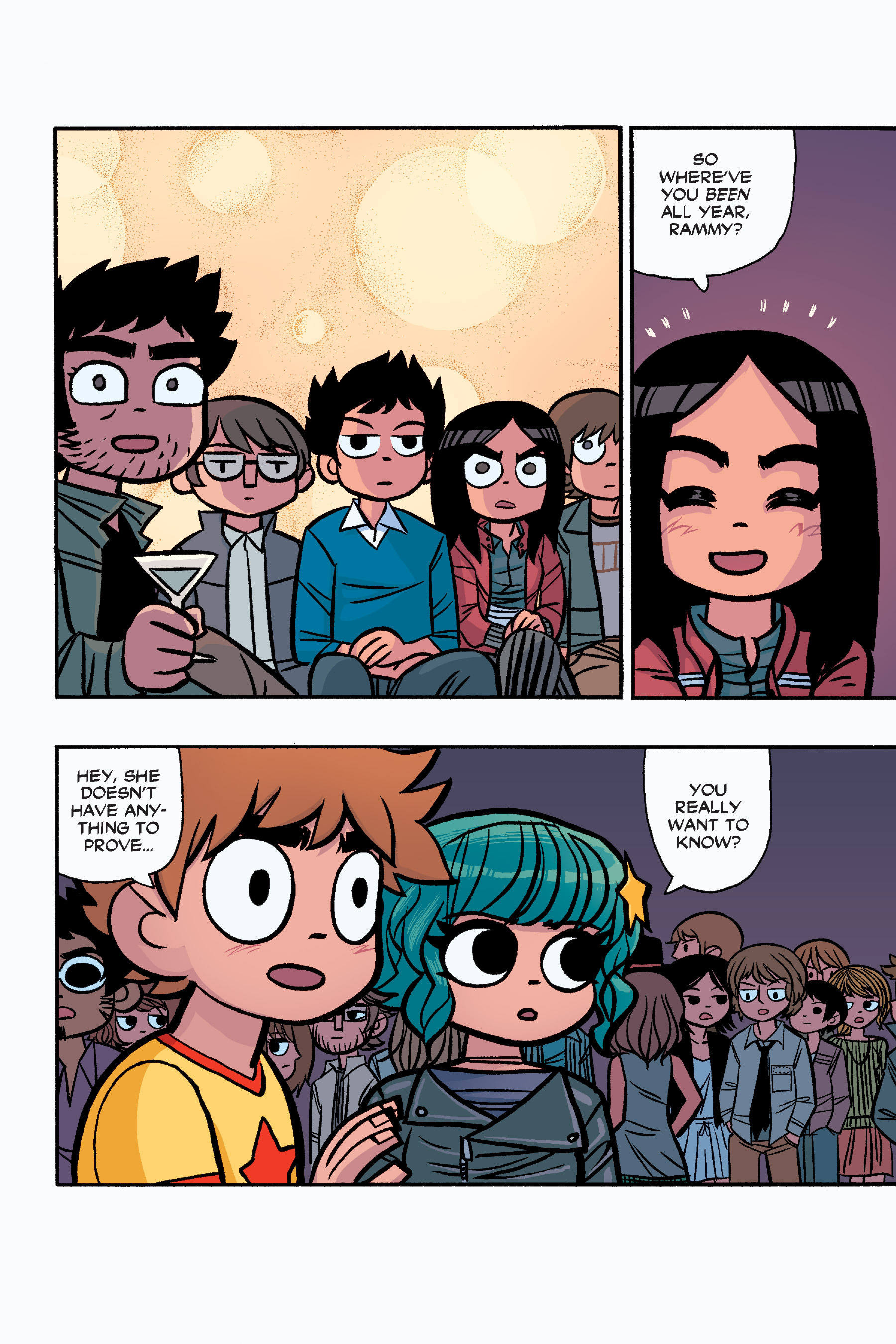 Read online Scott Pilgrim comic -  Issue #6 - 219