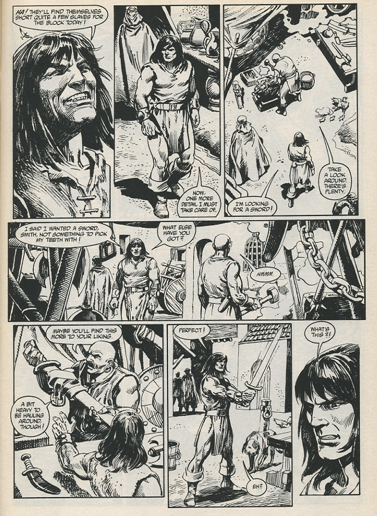 The Savage Sword Of Conan Issue #189 #190 - English 13