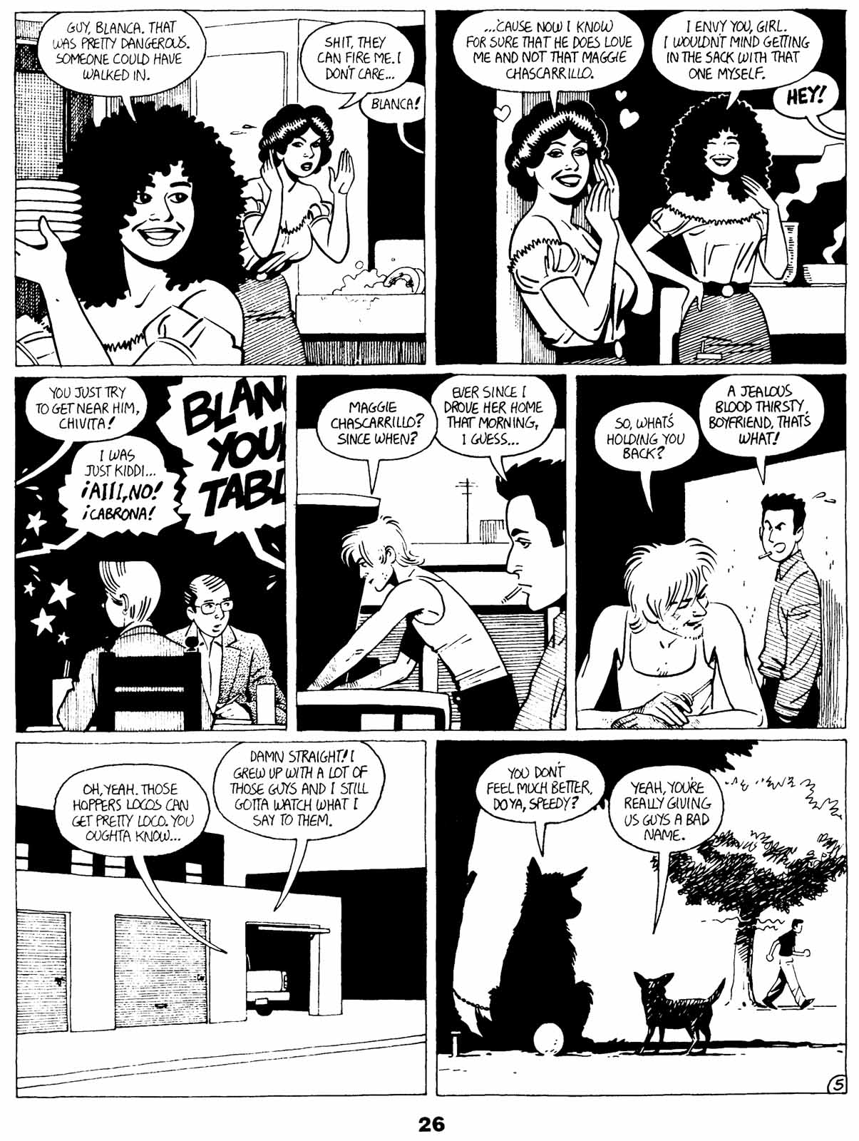Love and Rockets (1982) Issue #21 #20 - English 28