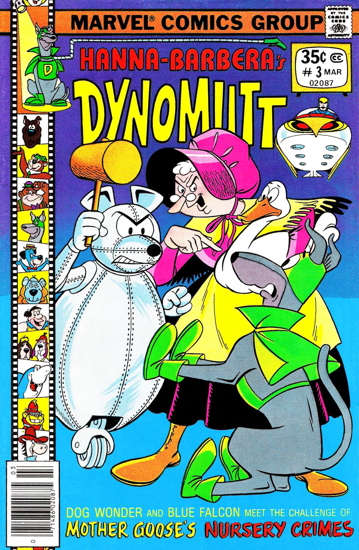 Dynomutt 3 Page 1