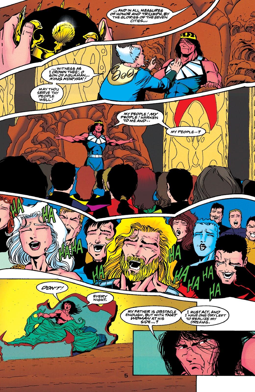 Aquaman (1994) Issue #49 #55 - English 6