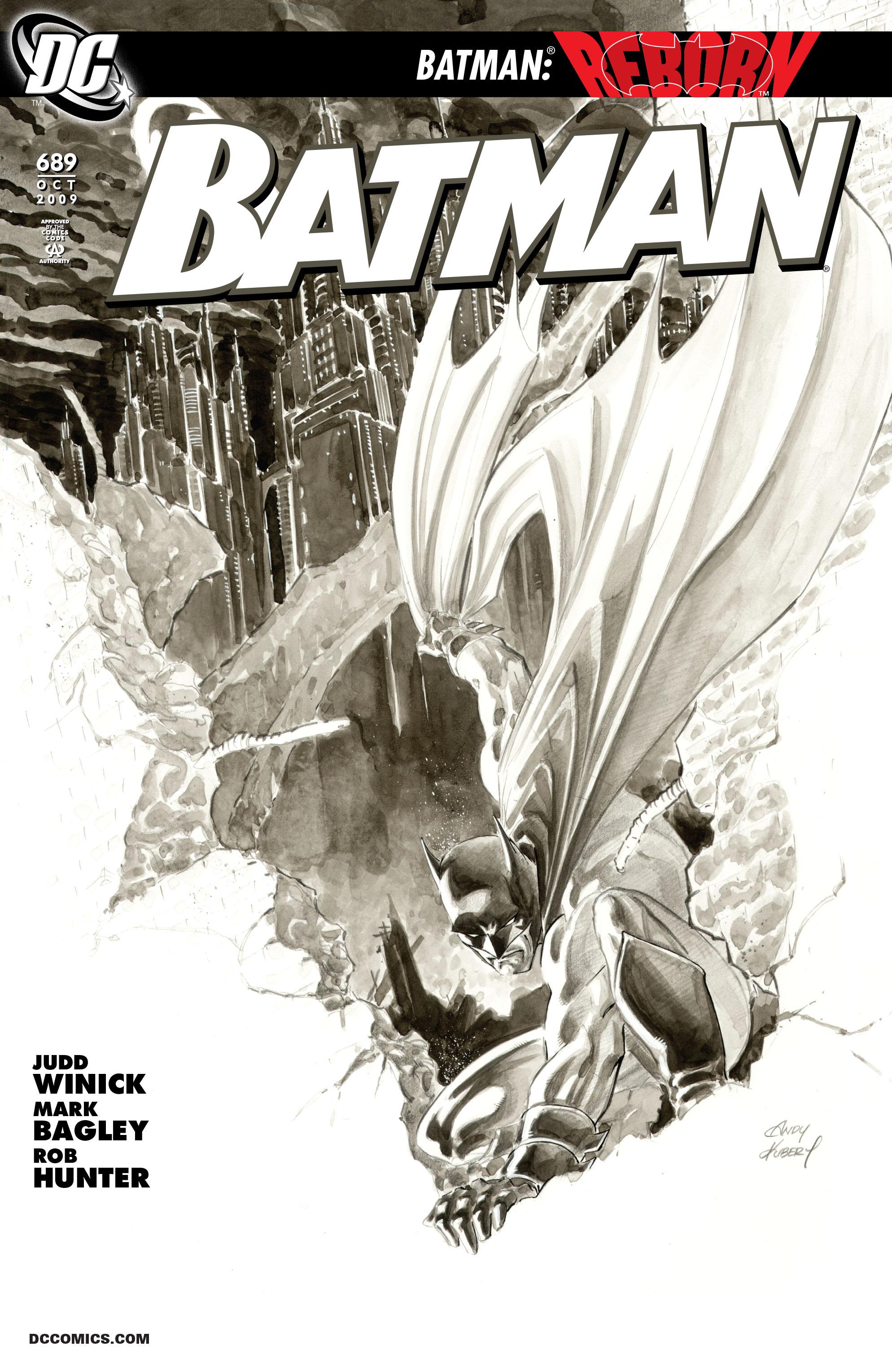 Batman (1940) 689 Page 1