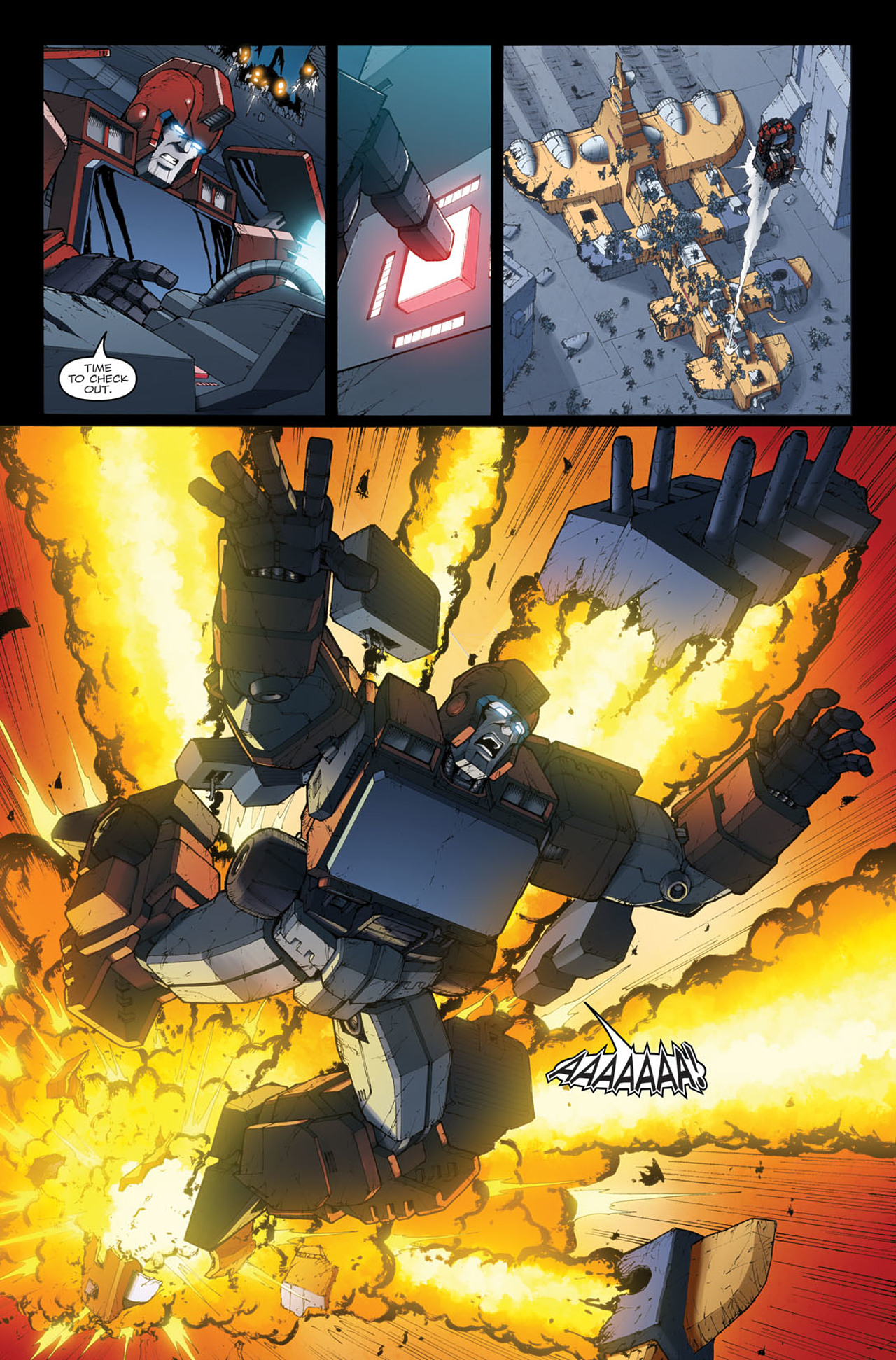 Read online The Transformers: Ironhide comic -  Issue #4 - 11