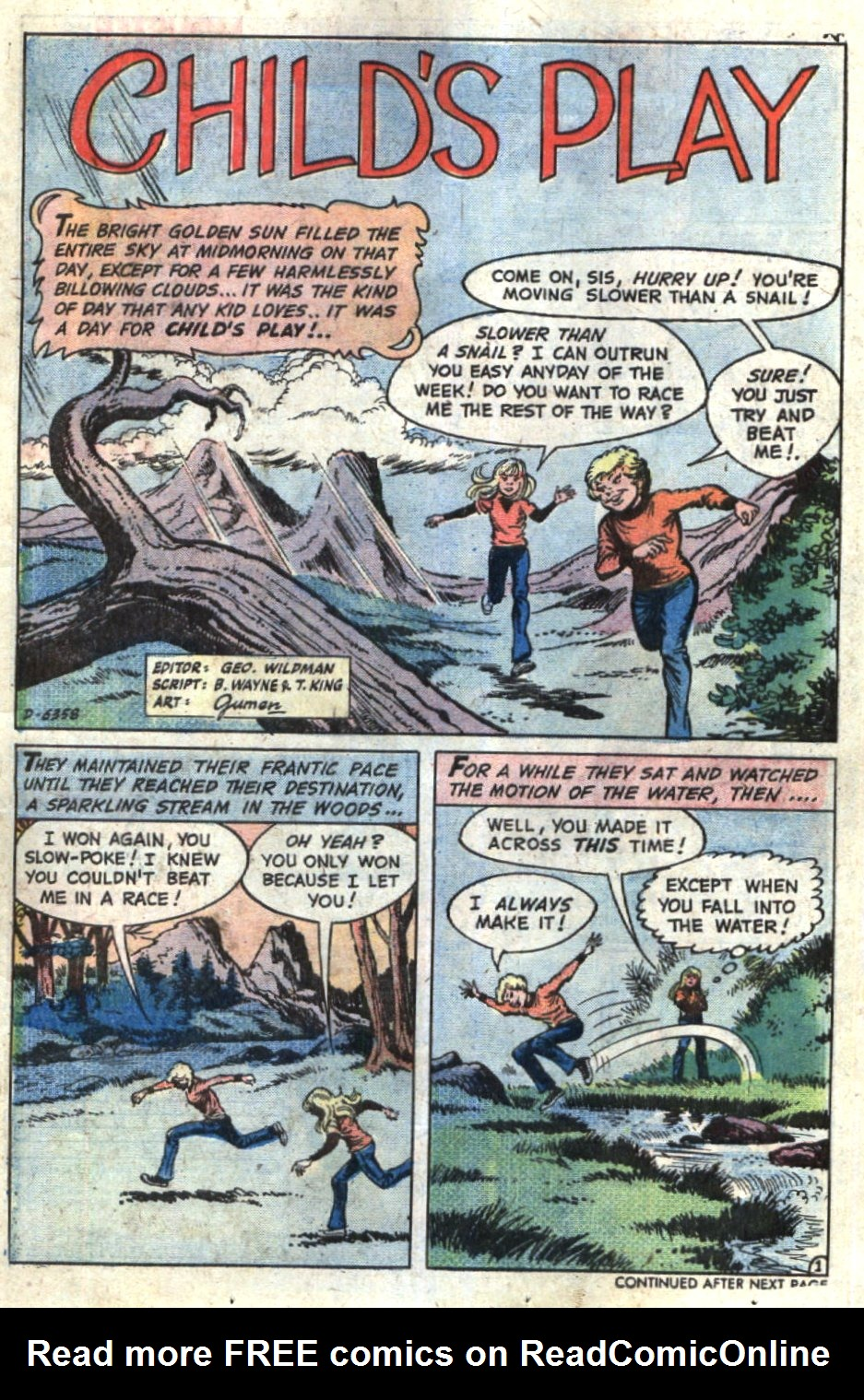 Read online Scary Tales comic -  Issue #5 - 13