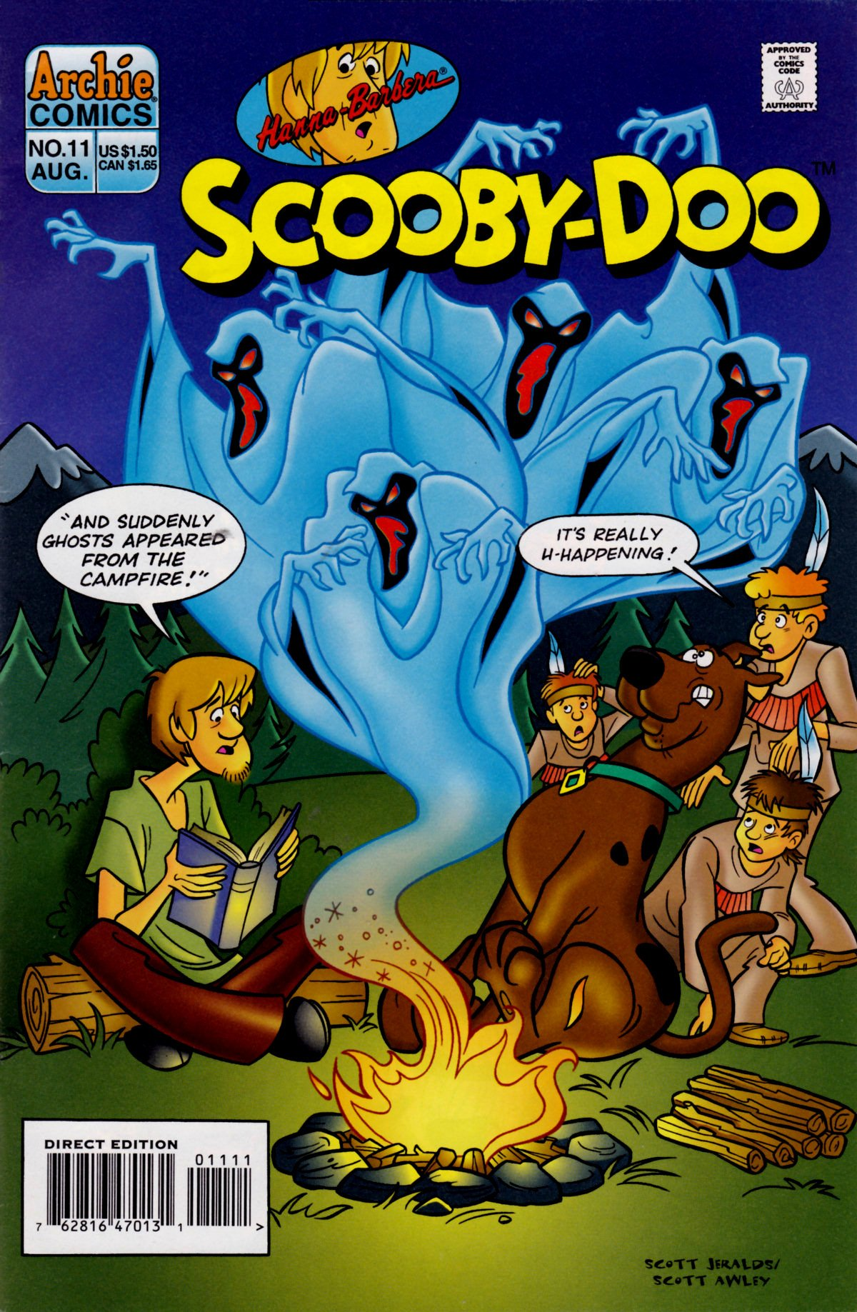 Read online Scooby-Doo (1995) comic -  Issue #11 - 1