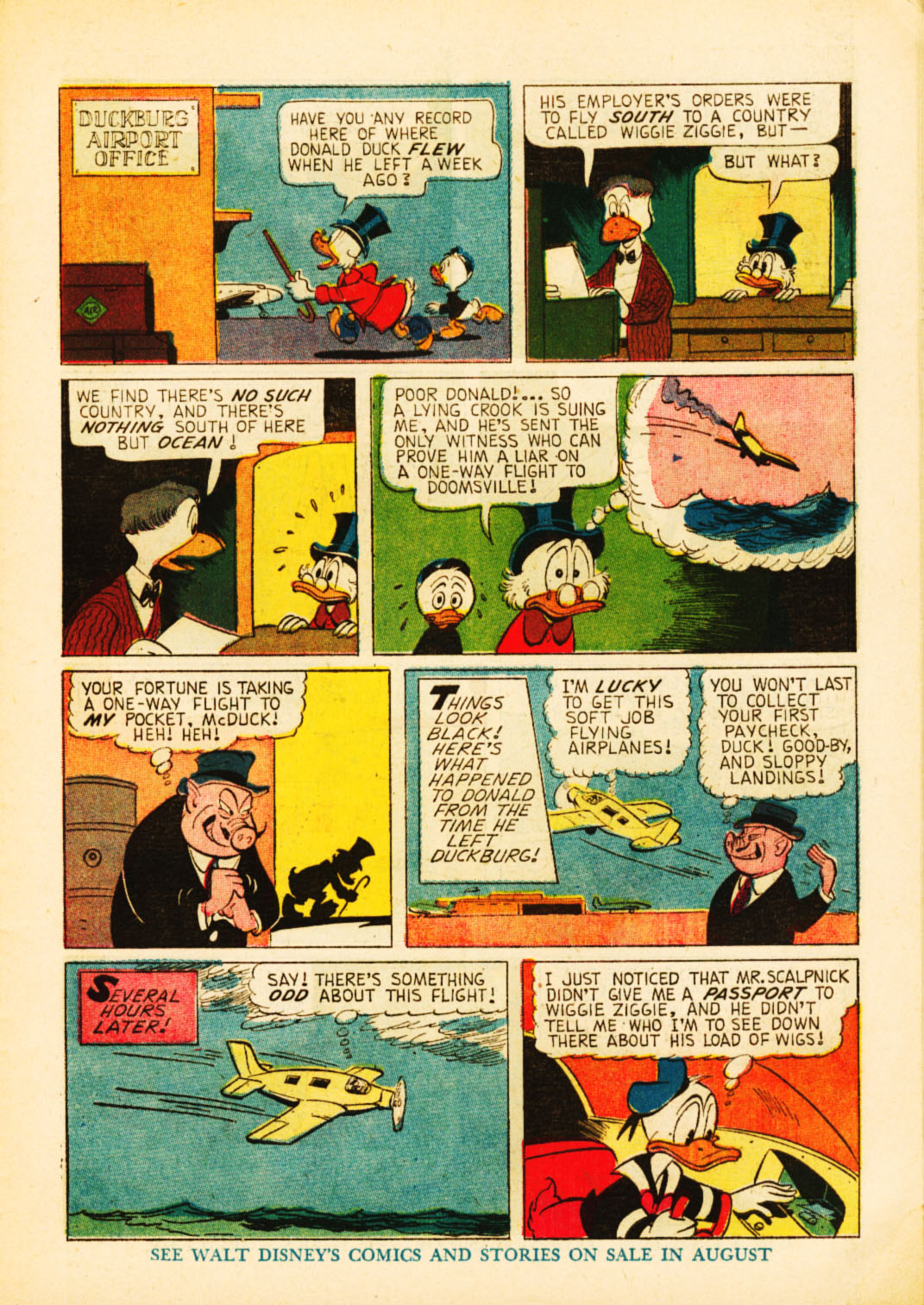 Uncle Scrooge (1953) Issue #52 #52 - English 7