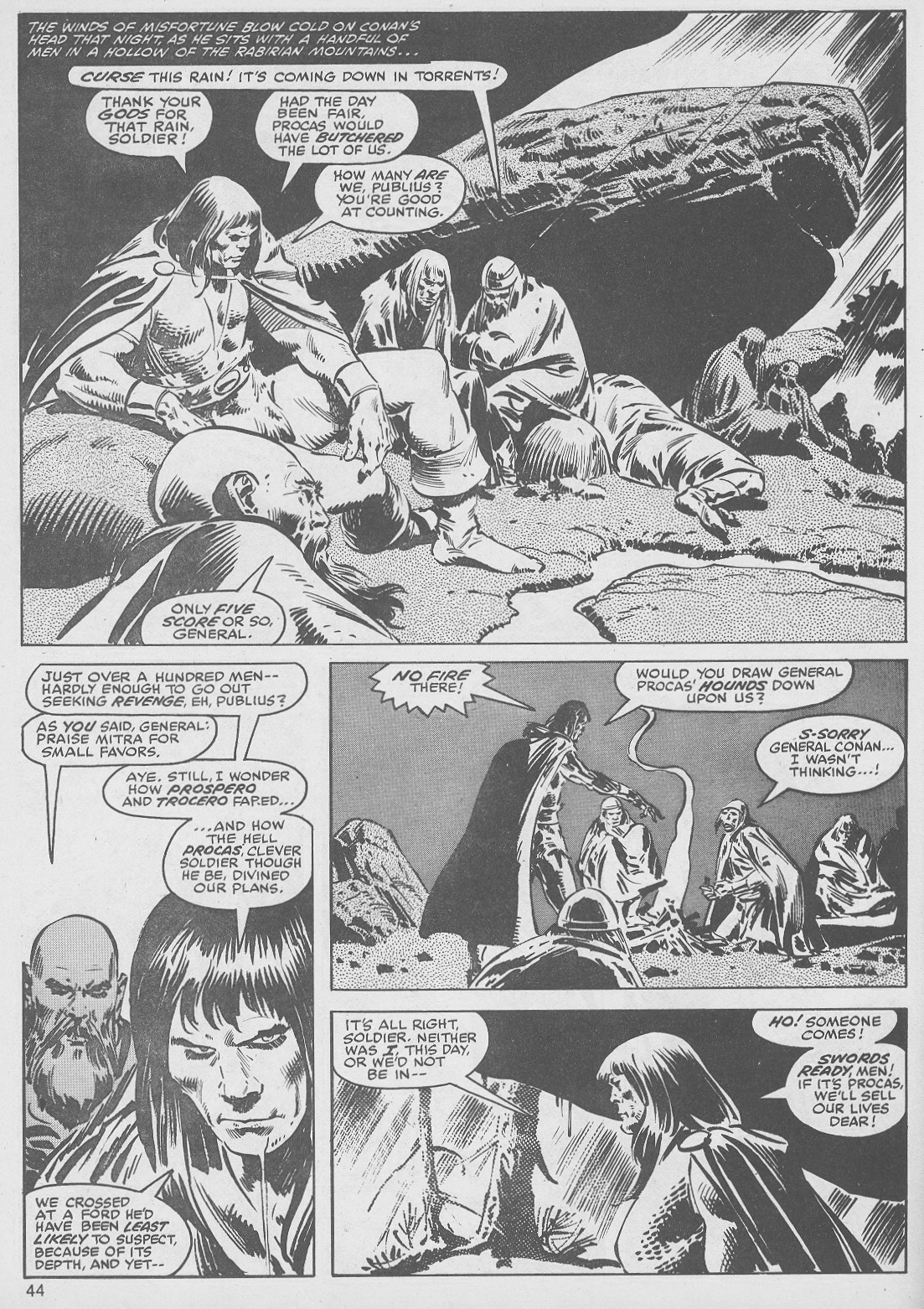 The Savage Sword Of Conan Issue #49 #50 - English 44