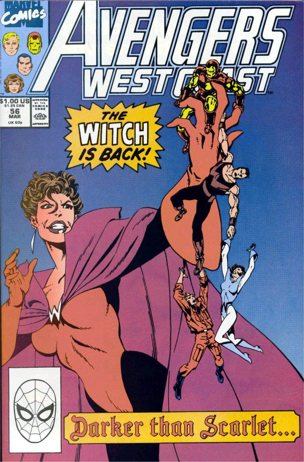 Avengers West Coast (1989) 56 Page 1