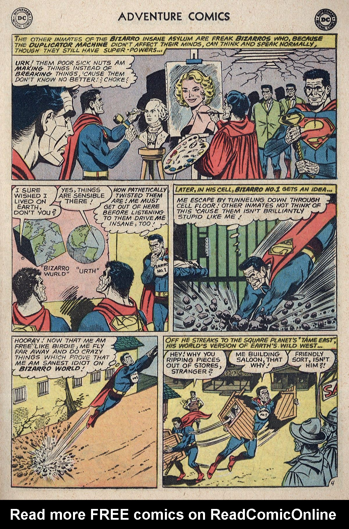 Read online Adventure Comics (1938) comic -  Issue #298 - 23