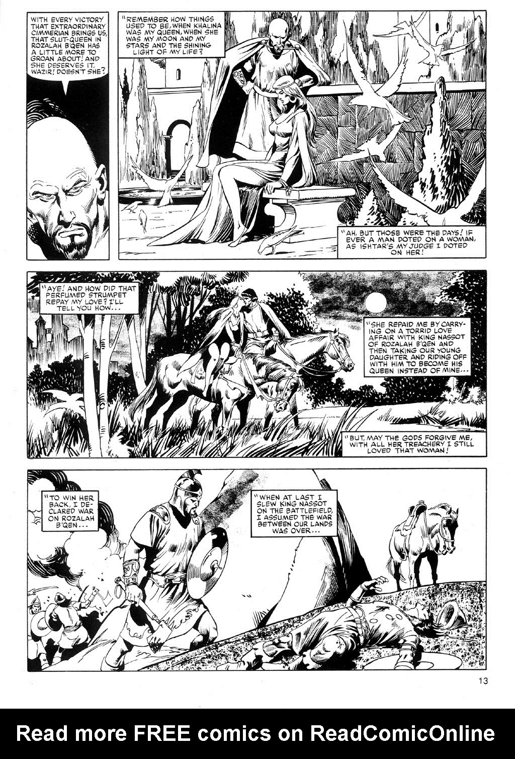 The Savage Sword Of Conan Issue #91 #92 - English 12