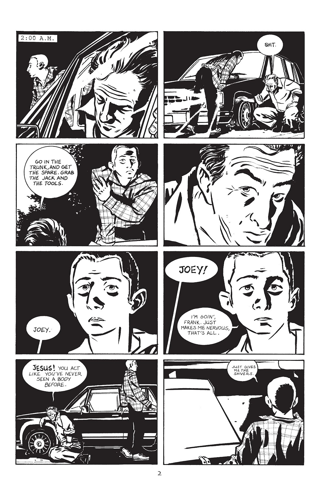 Stray Bullets Issue #1 #1 - English 5