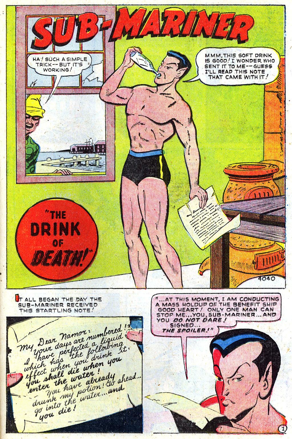 Sub-Mariner Comics #31 #31 - English 24