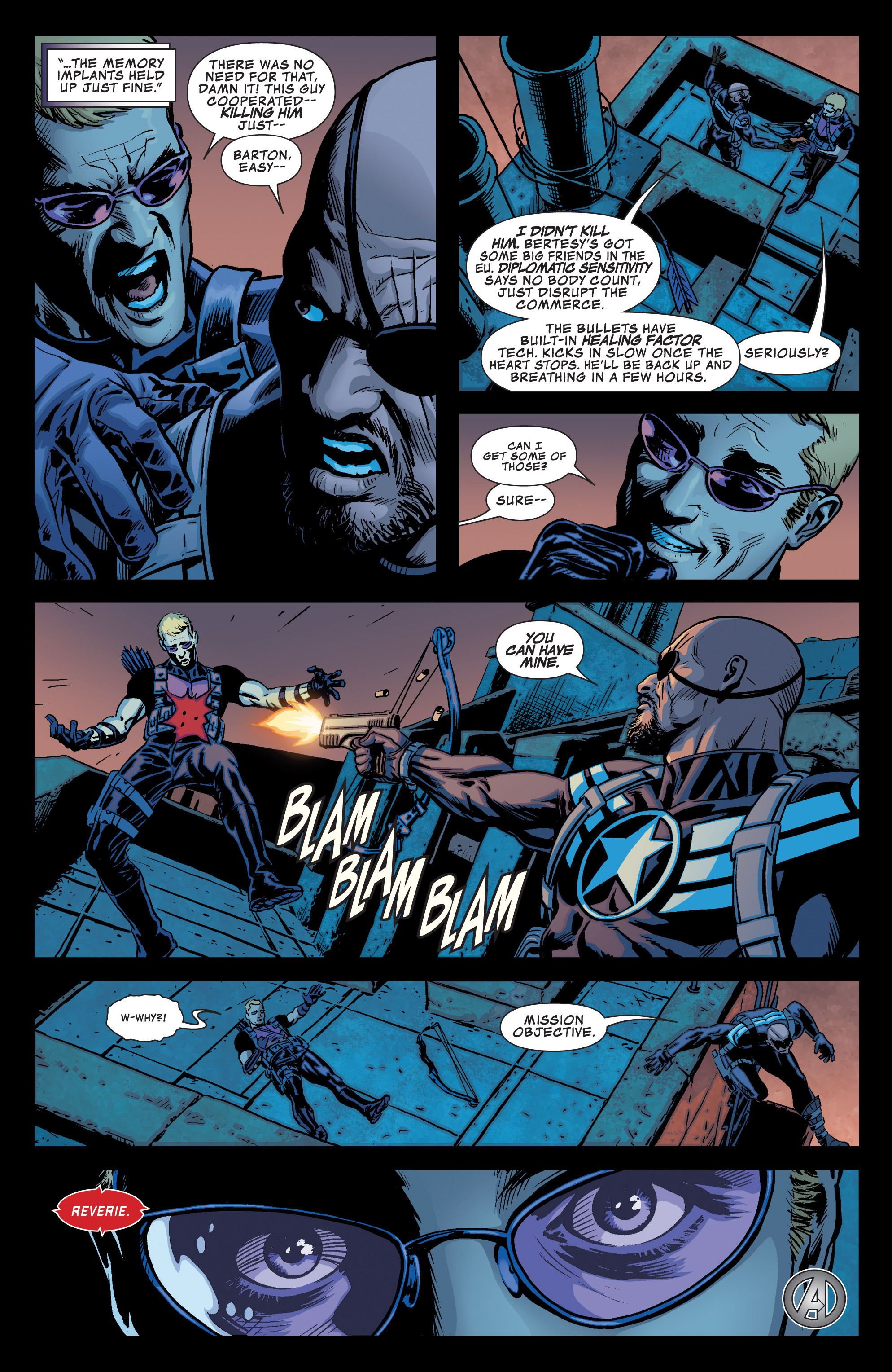 Read online Secret Avengers (2013) comic -  Issue #1 - 23