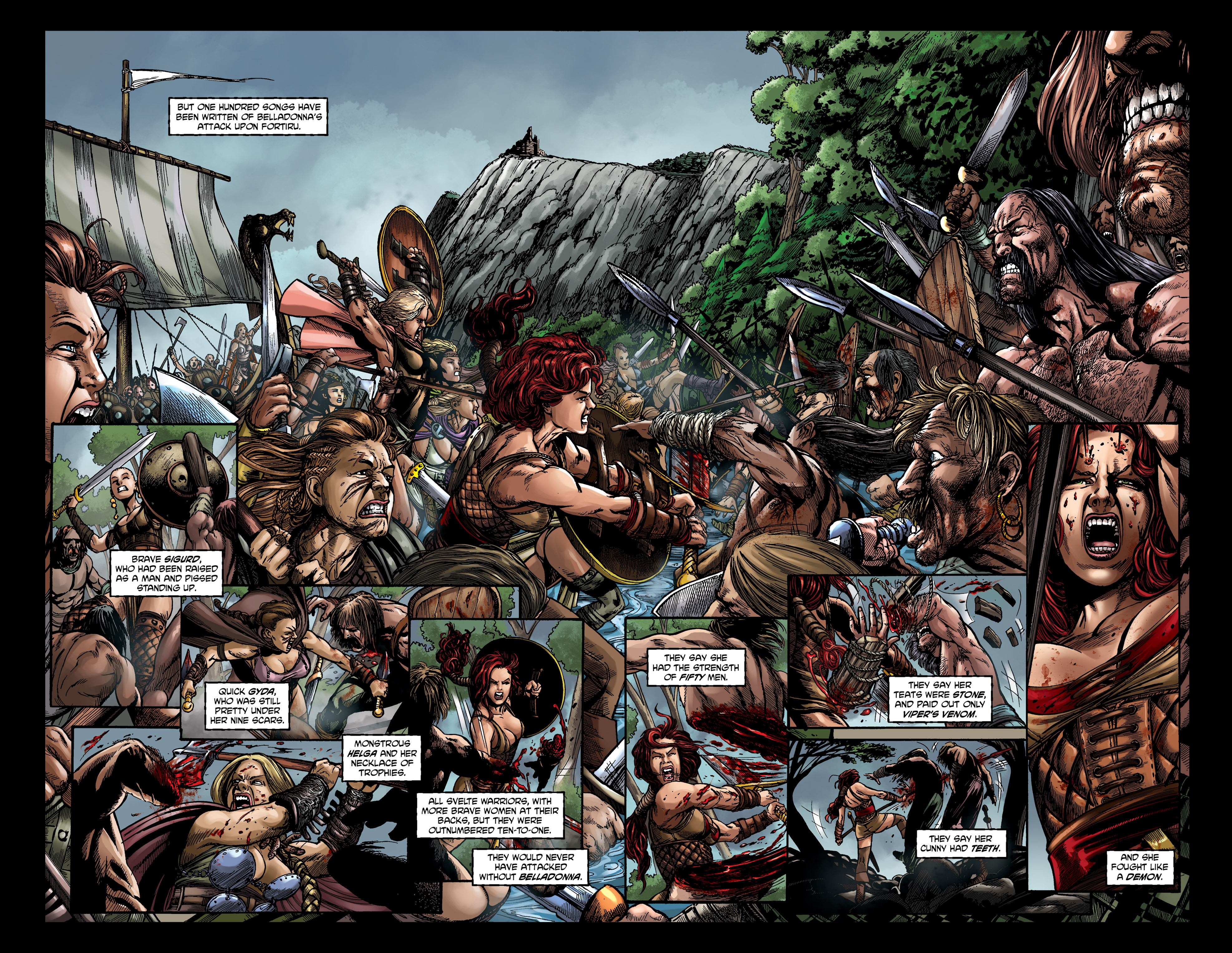 Read online Belladonna comic -  Issue #0 - 4