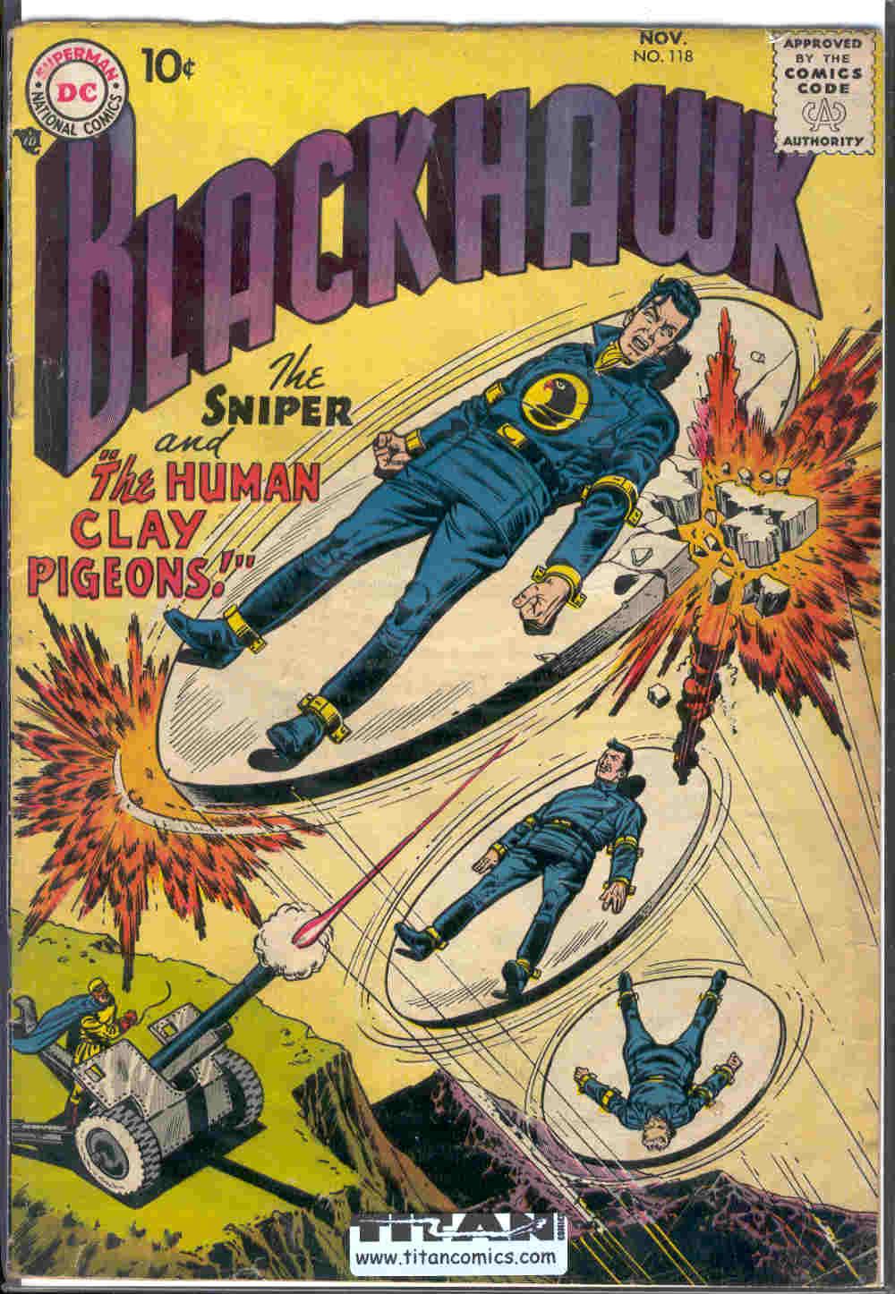 Blackhawk (1957) 118 Page 1