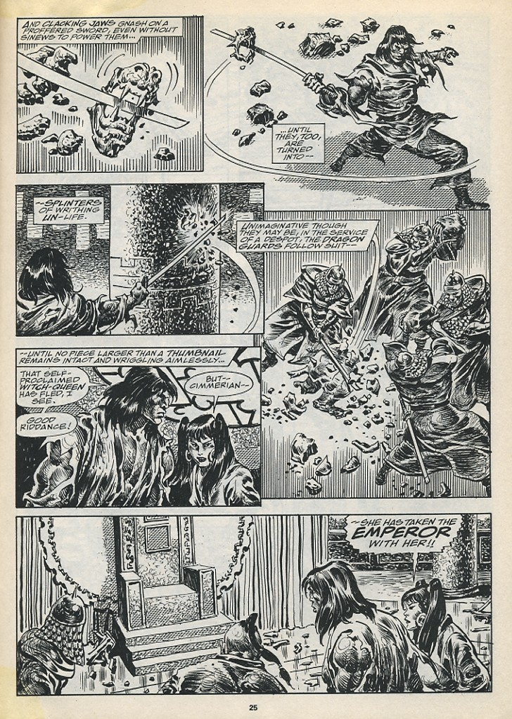 The Savage Sword Of Conan Issue #194 #195 - English 27