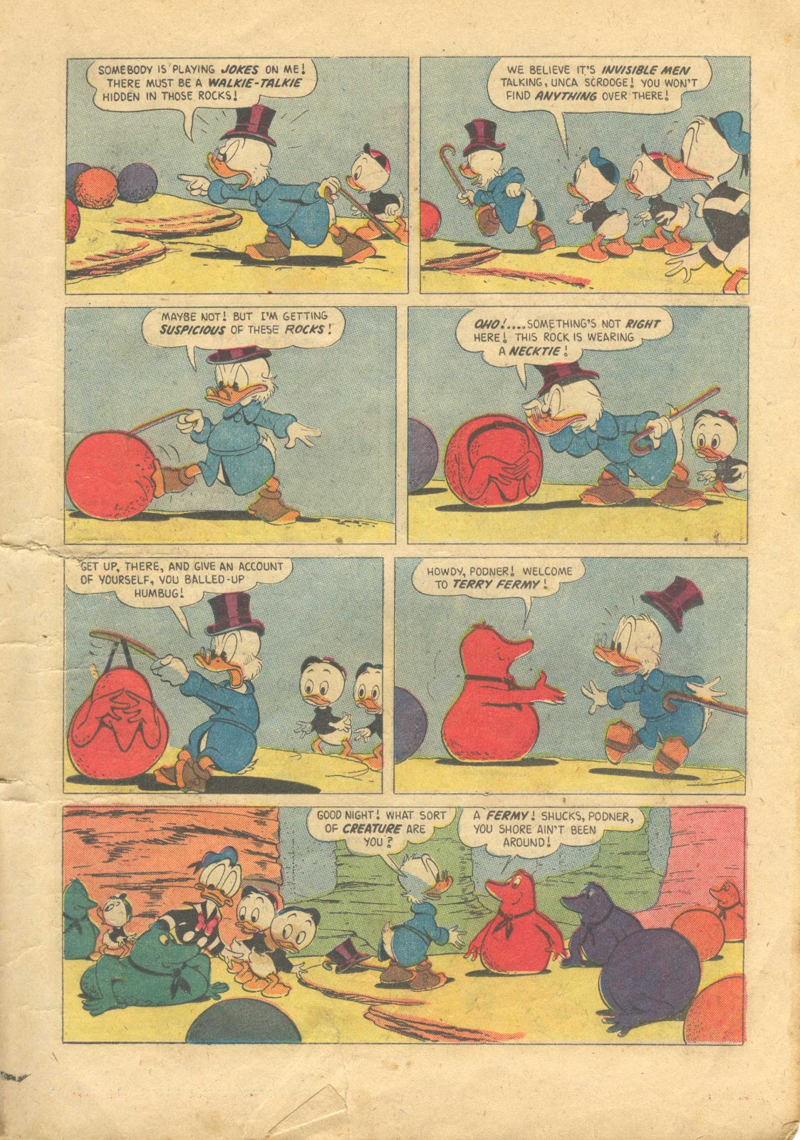 Uncle Scrooge (1953) Issue #13 #13 - English 11