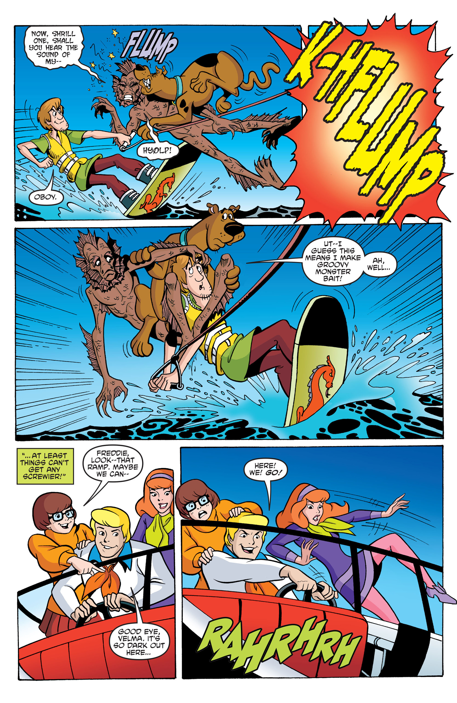 Read online Scooby-Doo: Where Are You? comic -  Issue #42 - 19