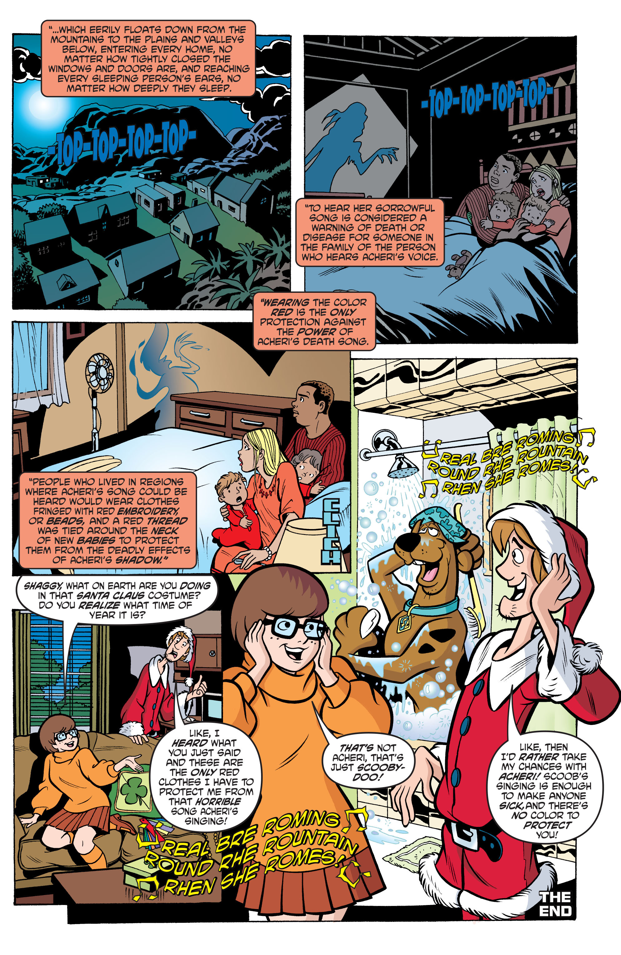 Read online Scooby-Doo: Where Are You? comic -  Issue #66 - 13
