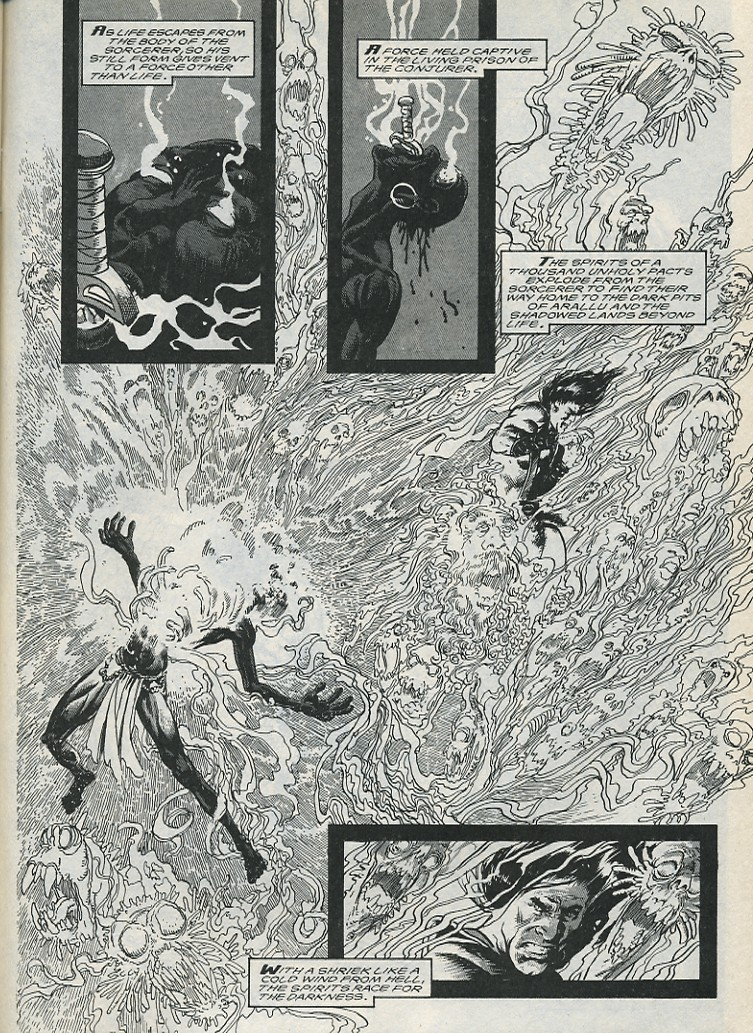 The Savage Sword Of Conan Issue #176 #177 - English 55