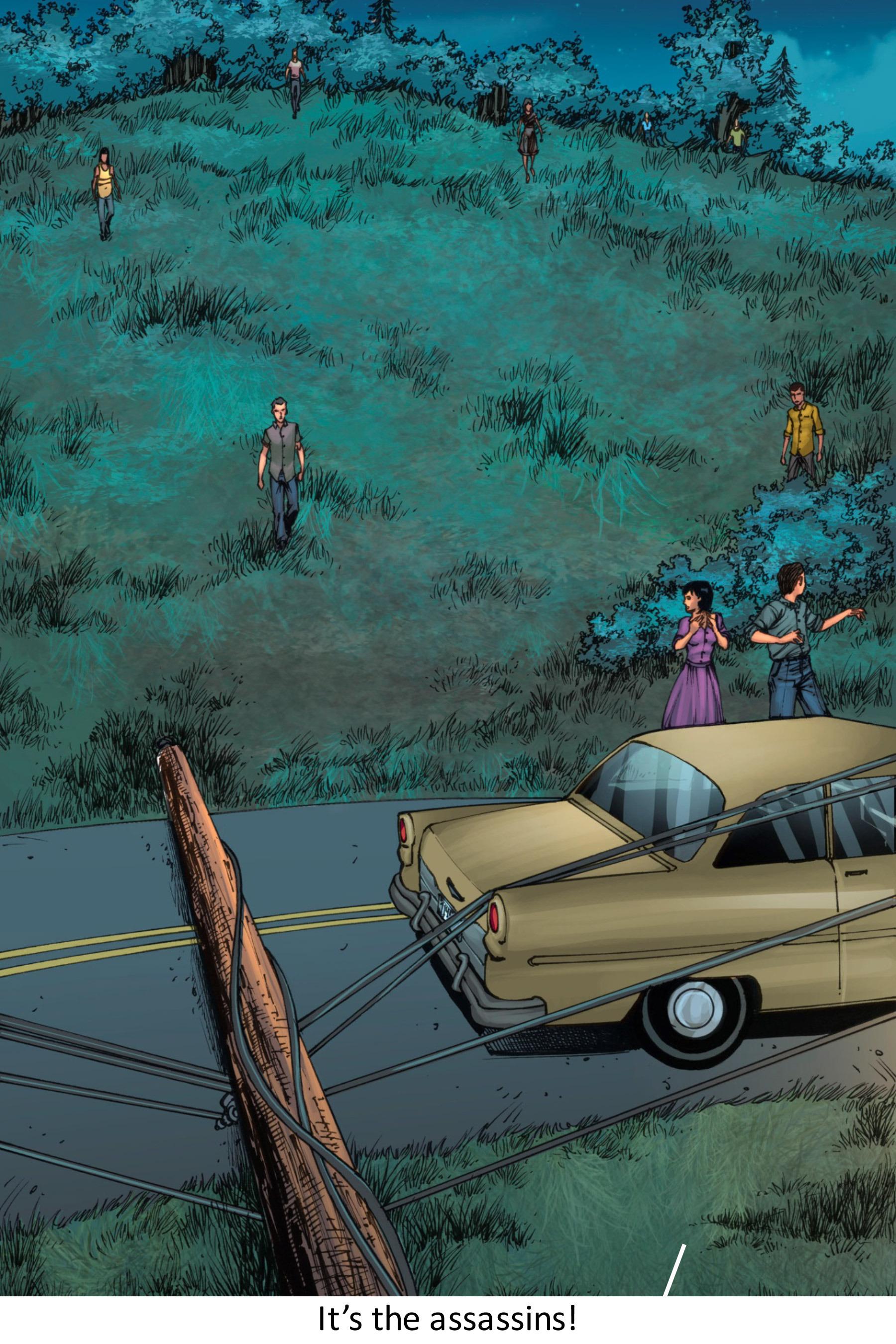 Read online Z-Men comic -  Issue #3 - 19