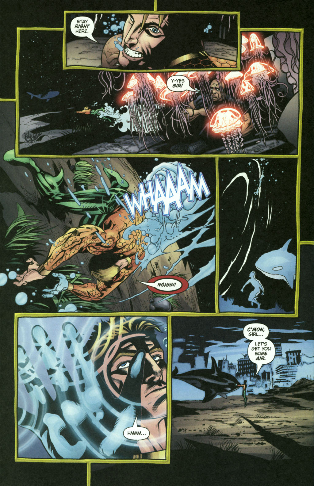 Aquaman (2003) Issue #21 #21 - English 17