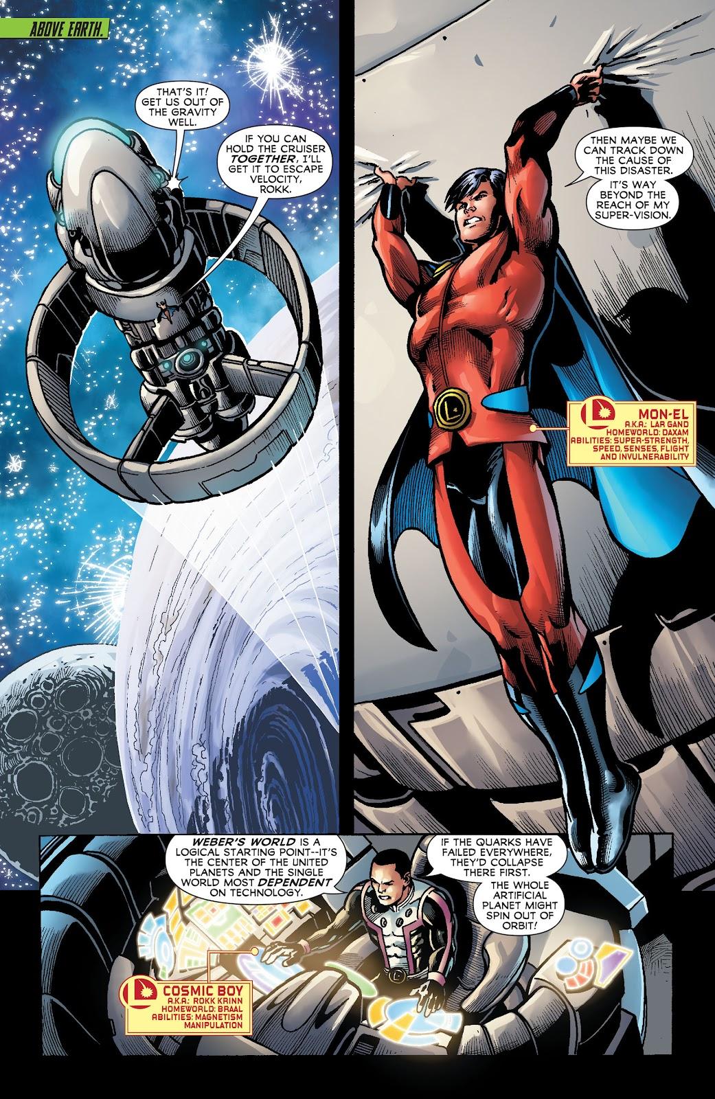 Legion of Super-Heroes (2011) Issue #18 #19 - English 6