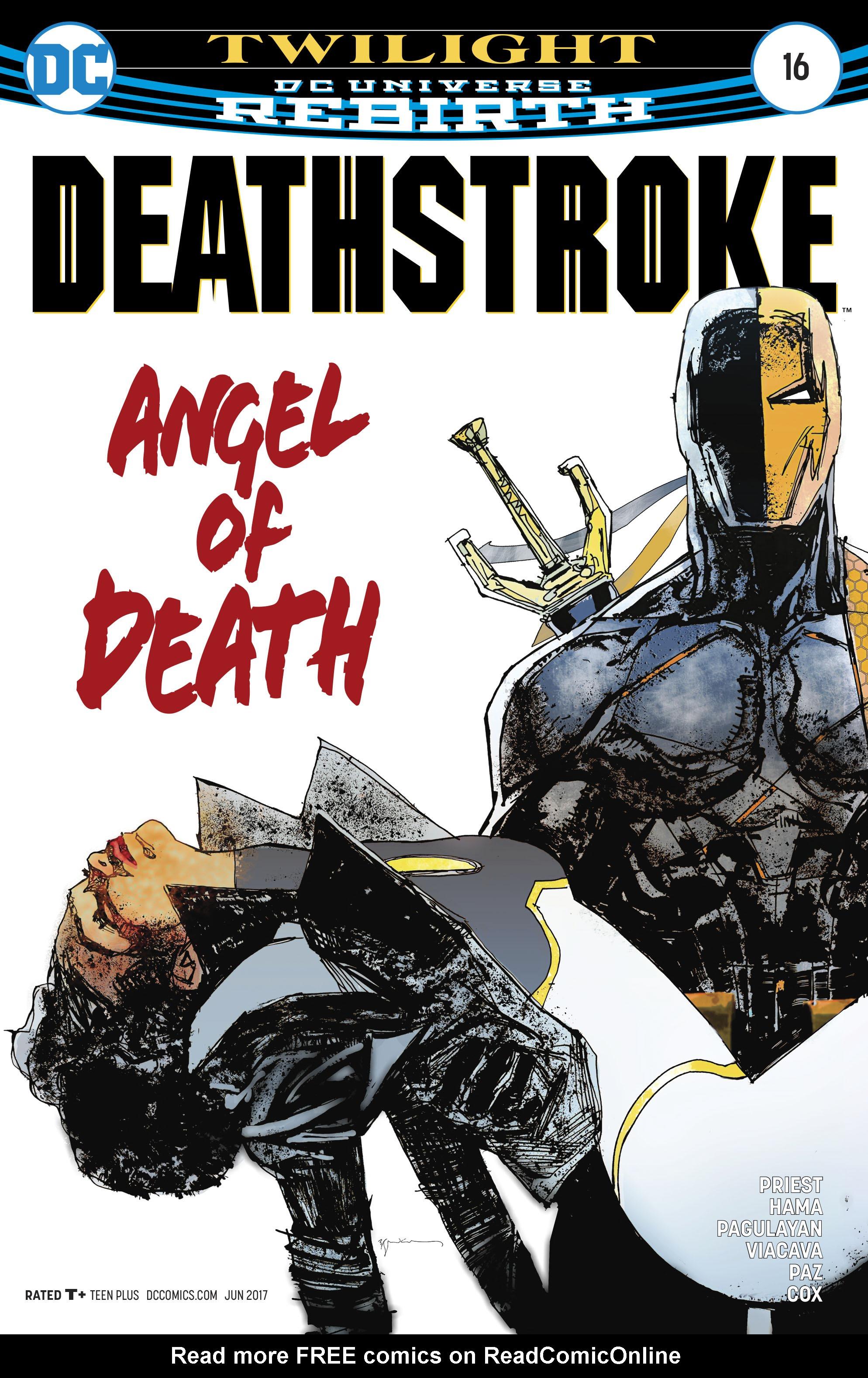 Deathstroke (2016) 16 Page 1