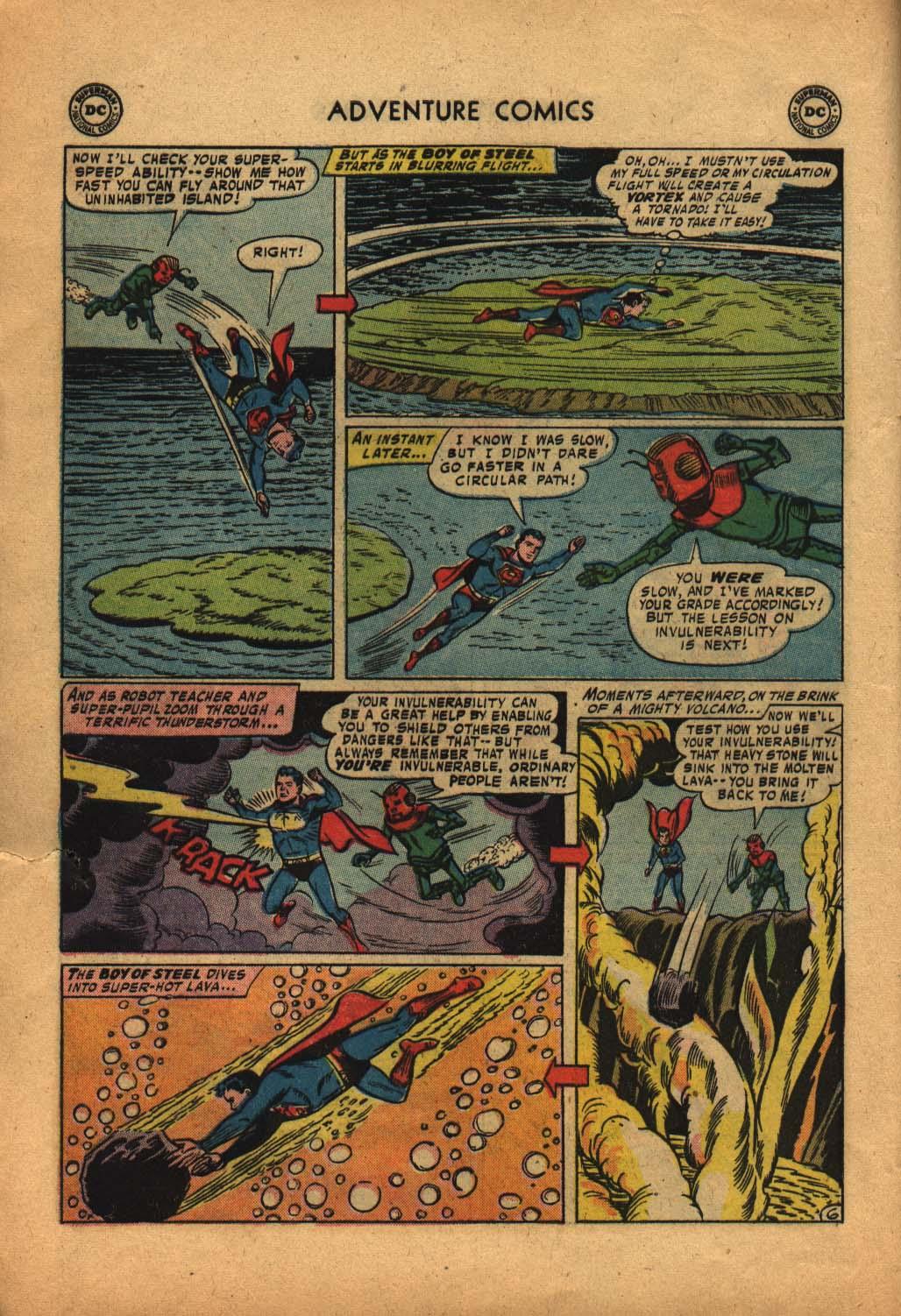 Read online Adventure Comics (1938) comic -  Issue #240 - 8