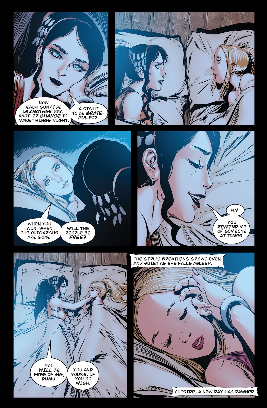 Queen of Vampires Issue #7 #7 - English 10