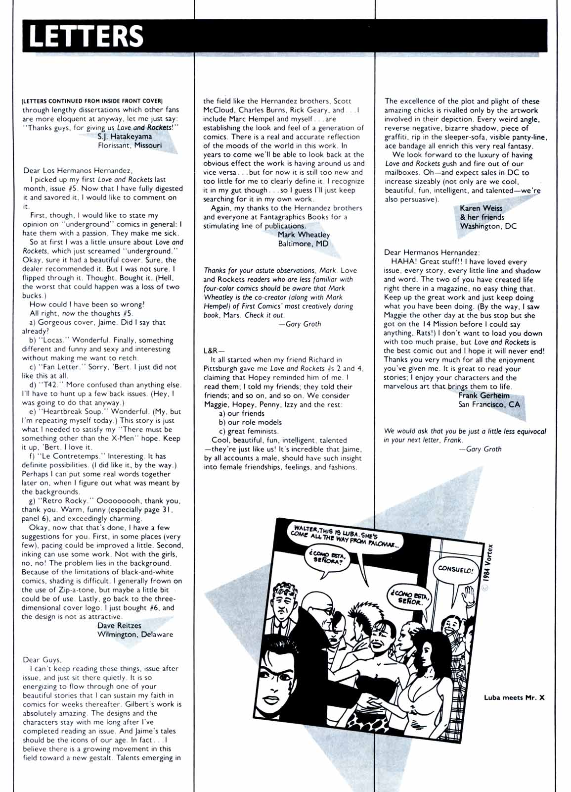Love and Rockets (1982) Issue #9 #8 - English 33